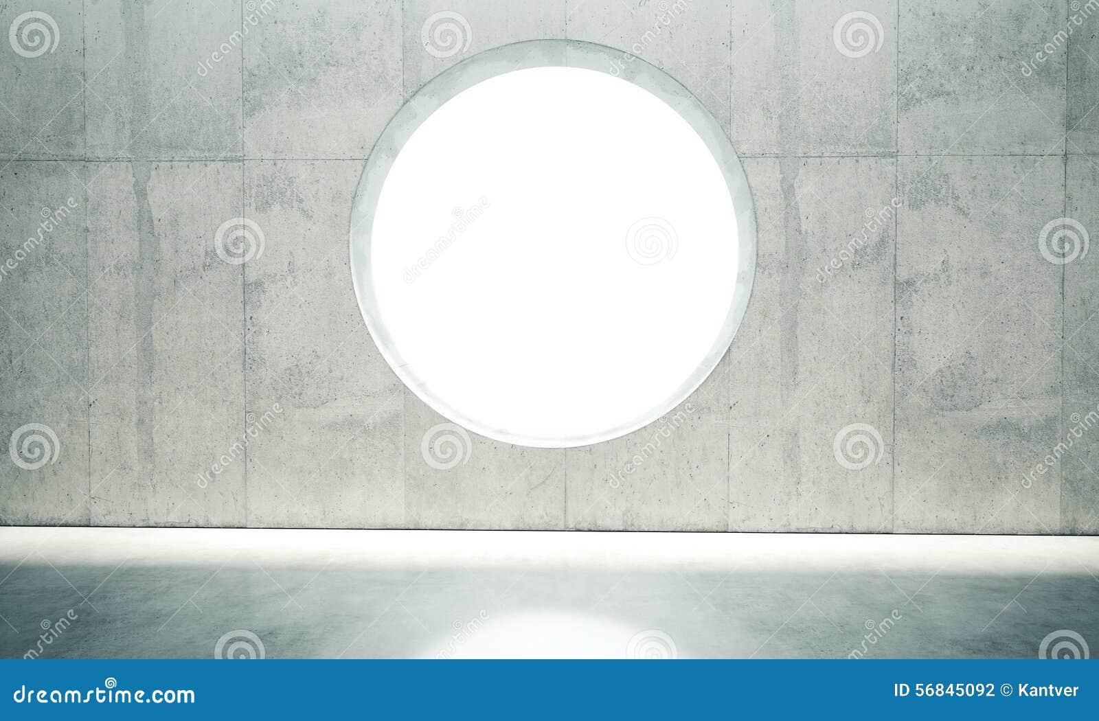 Fenster innenwand  Leerstelleinnenwand Mit Einem Fenster In Stock Abbildung - Bild ...