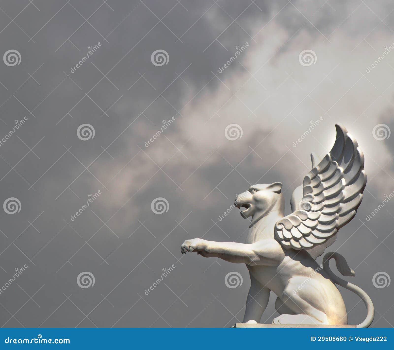 Leeuw met vleugels