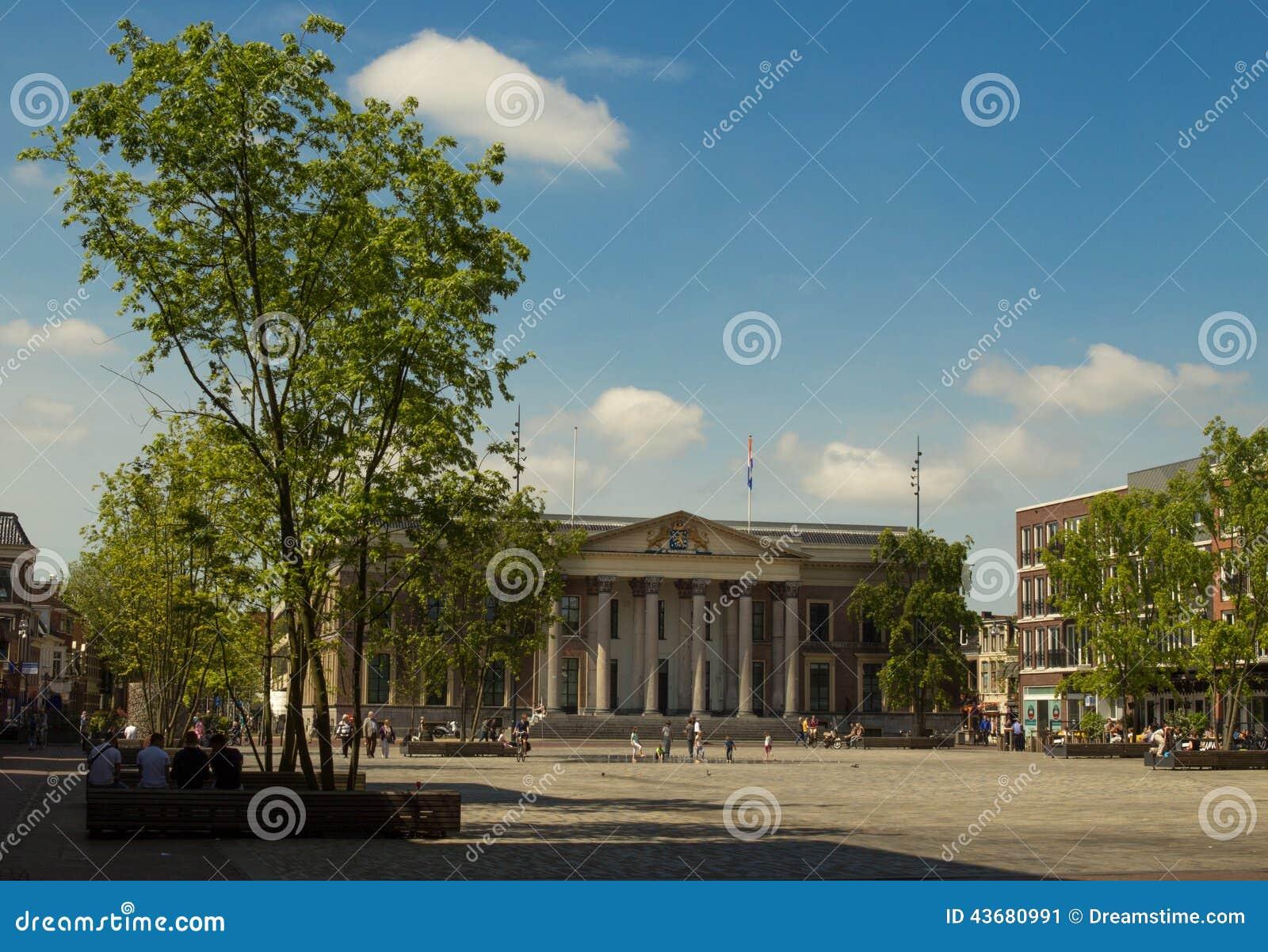 Leeuwarden Courthouse and Wilhelminaplein