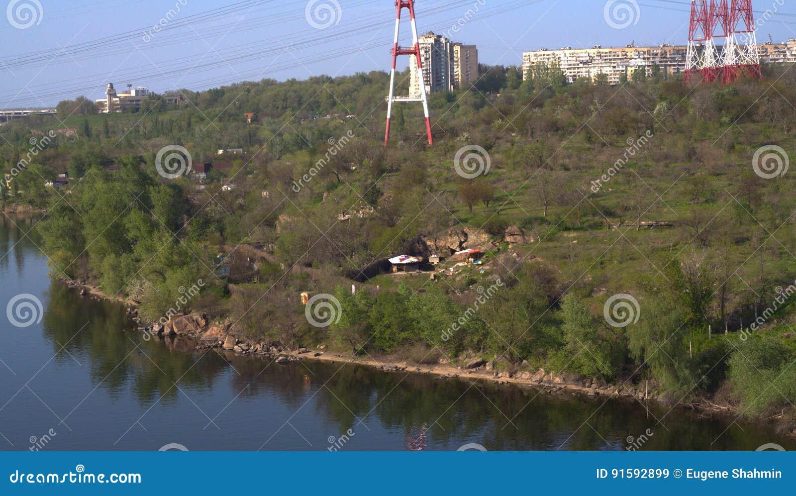 Left bank of Dnepr river.