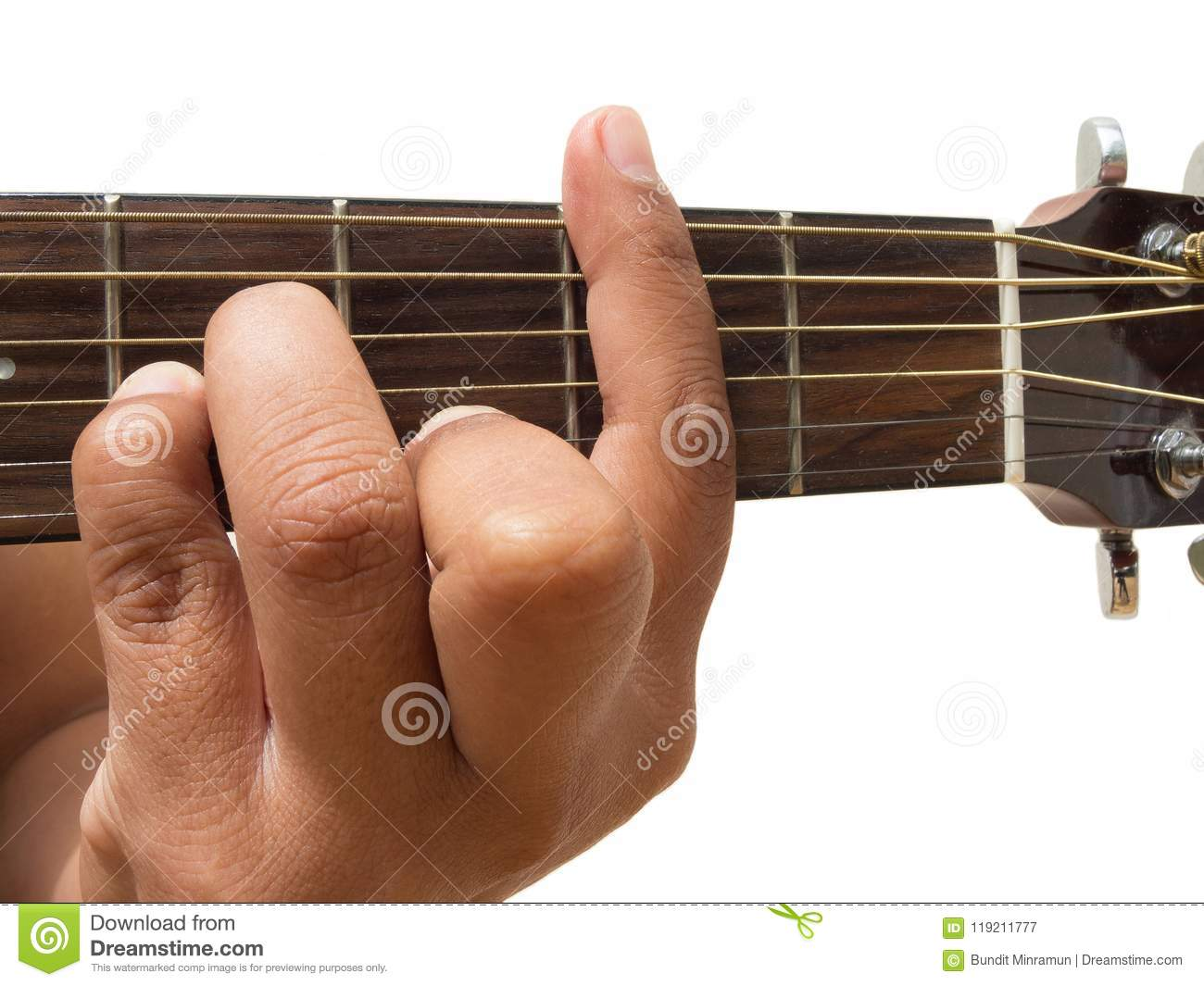 Left Hand Gesture Chord Bm Guitar Chord Finger Position In Close