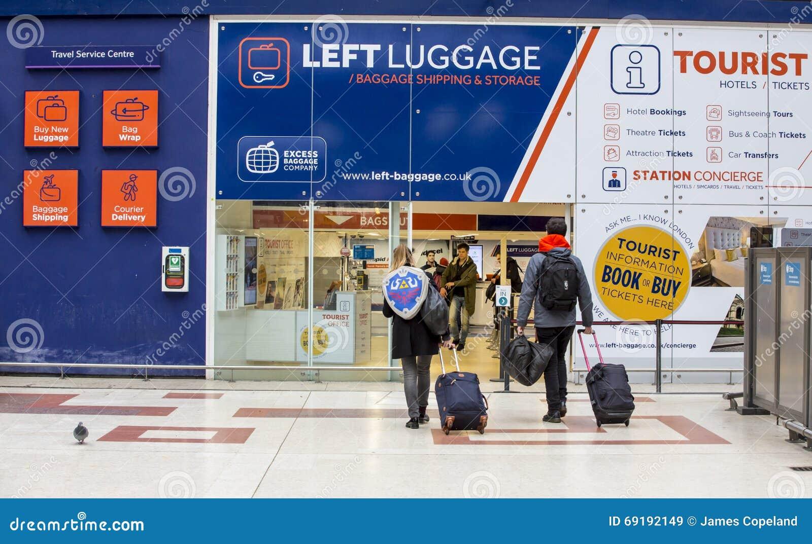 London Station Luggage Storage