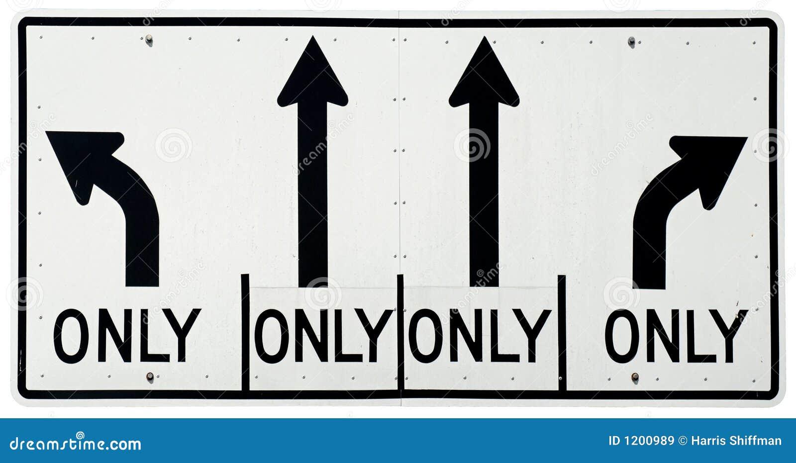 Left/Straight/Right