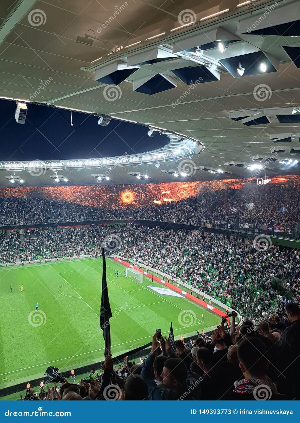 Lega dei campioni di calcio dello stadio