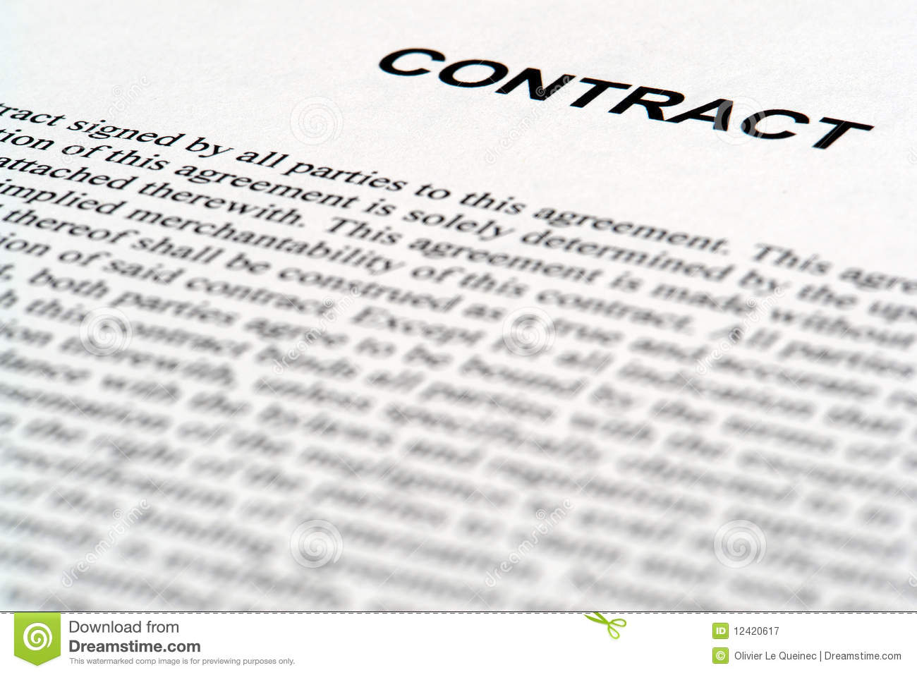 case studies law of contract