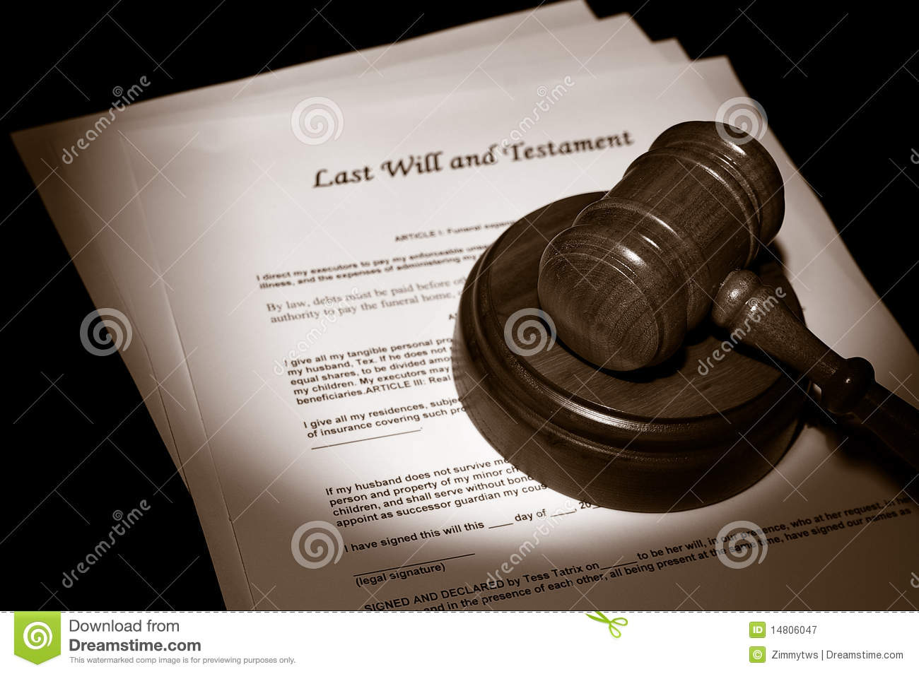 Legal Documents Royalty Free Stock Photography - Image: 14806047