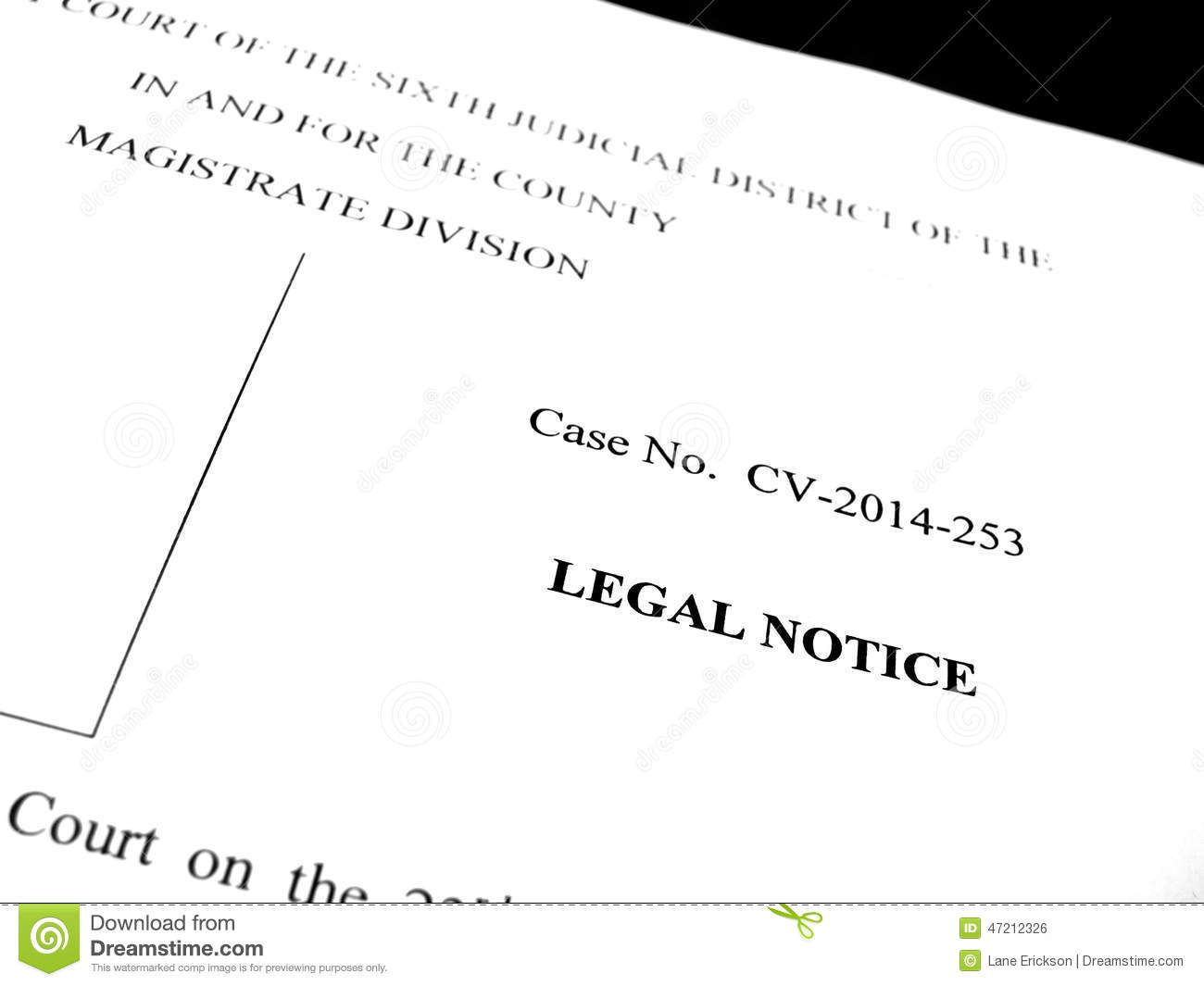 legal papers lawsuit notice stock photo image of matrimony jurist