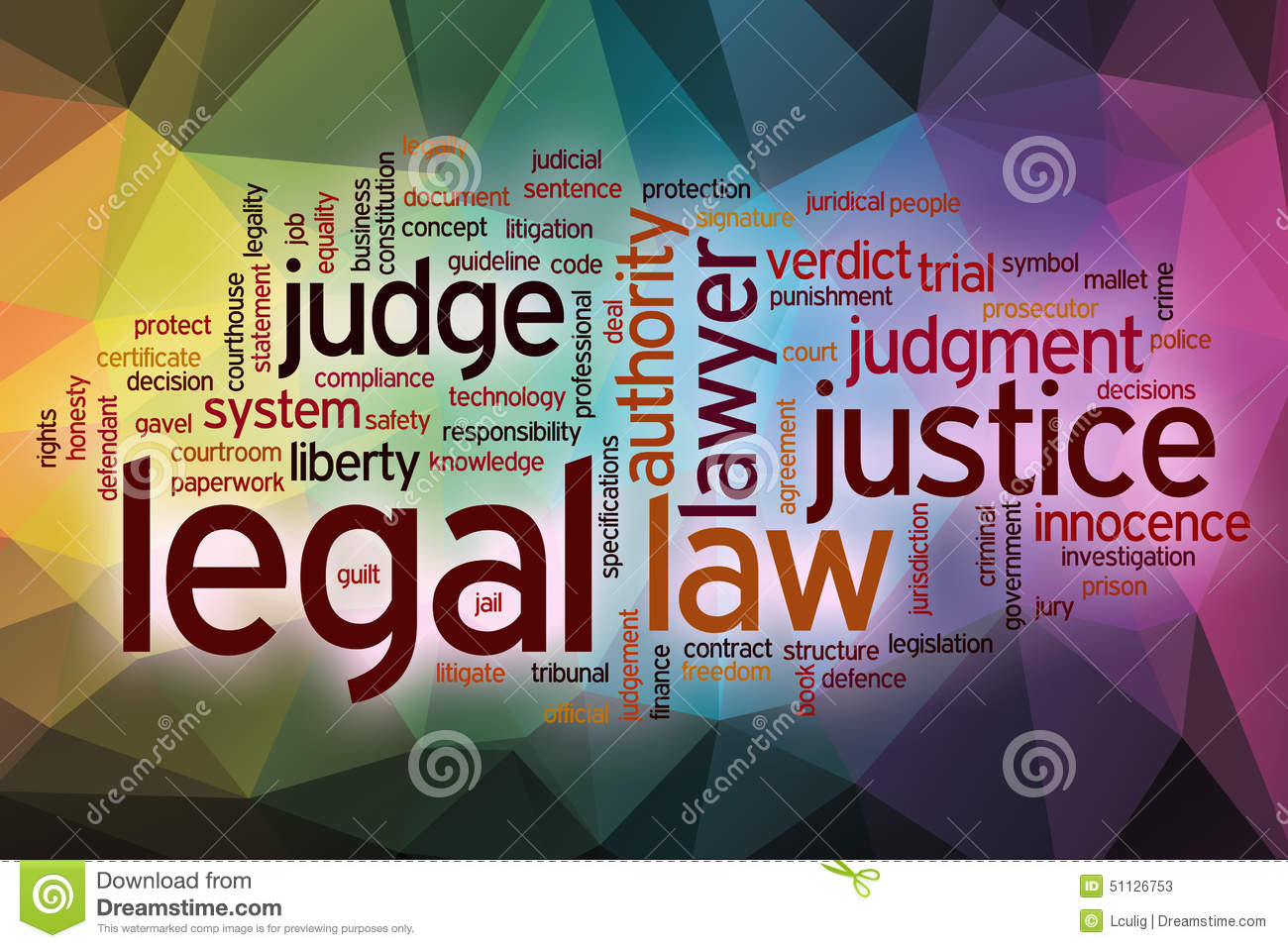 legal word cloud with abstract background stock image image of