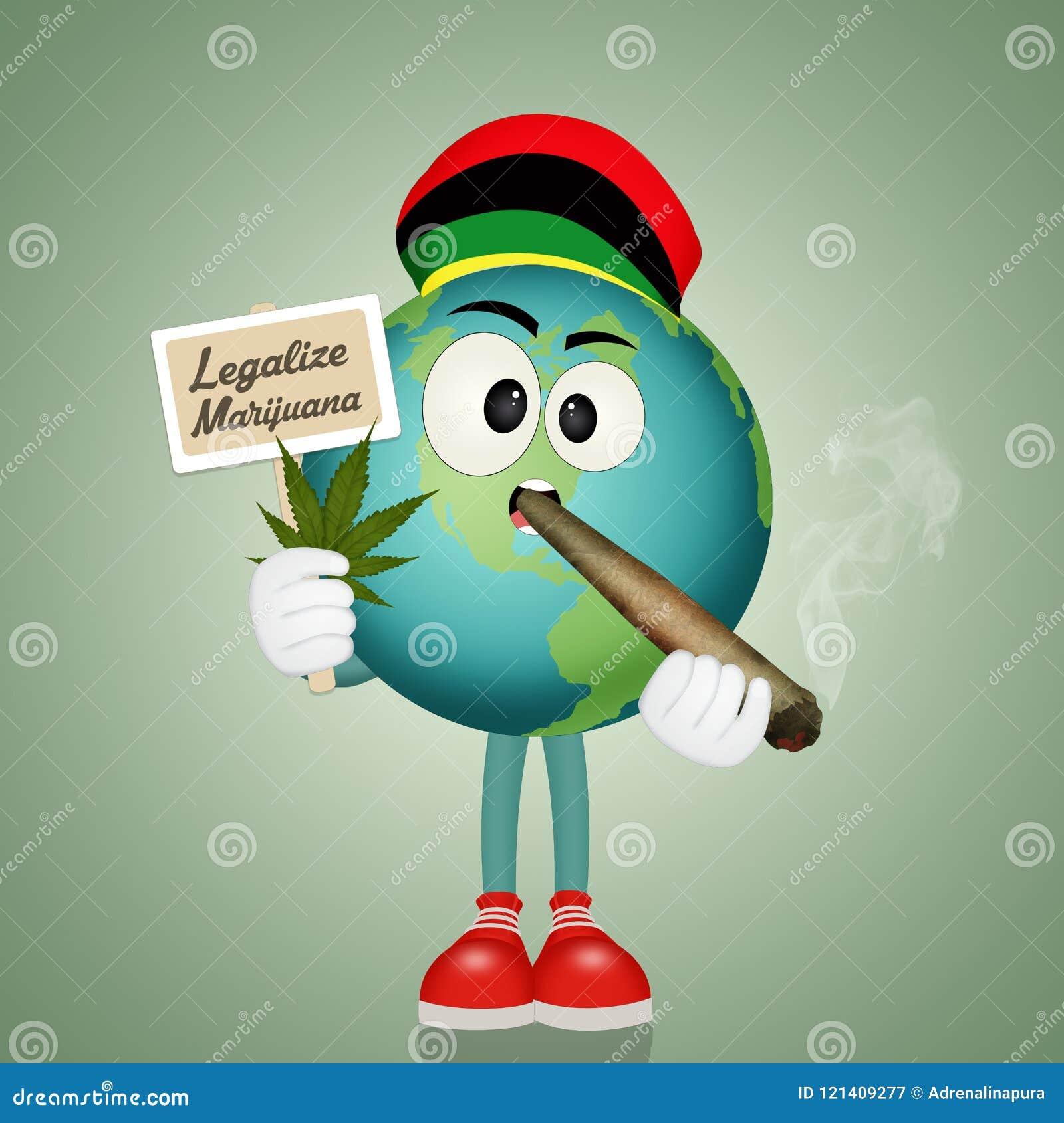 Legalice la marijuana en el mundo