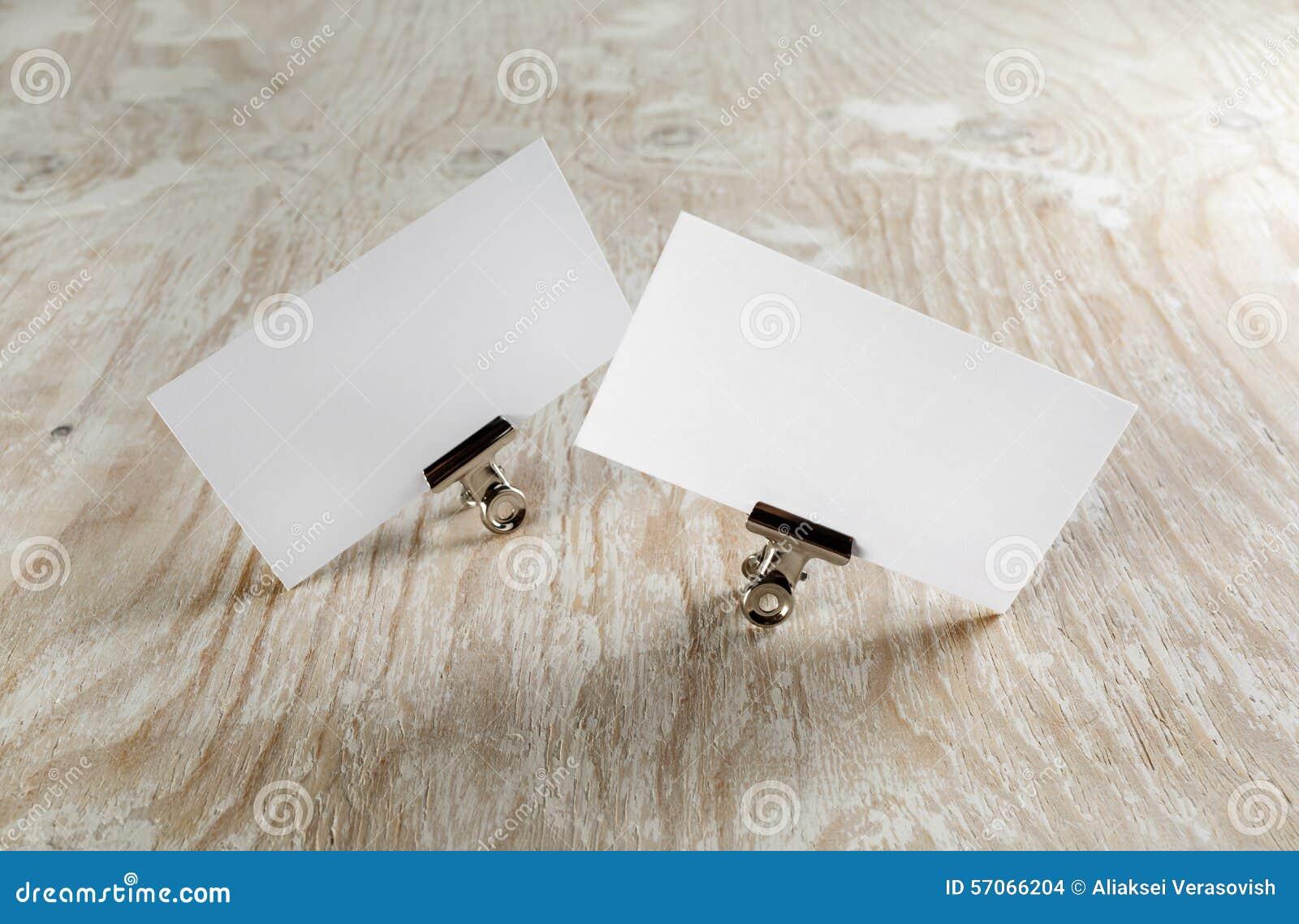 Lege adreskaartjes