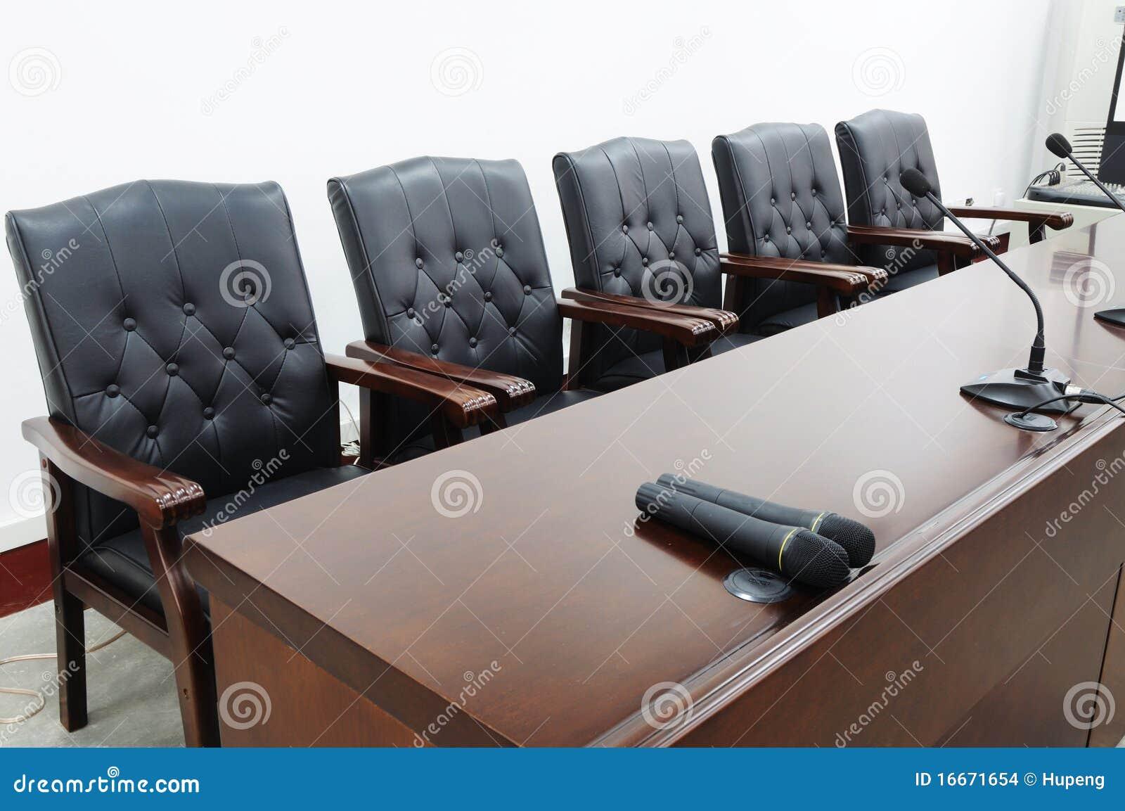 Lege bestuurskamer