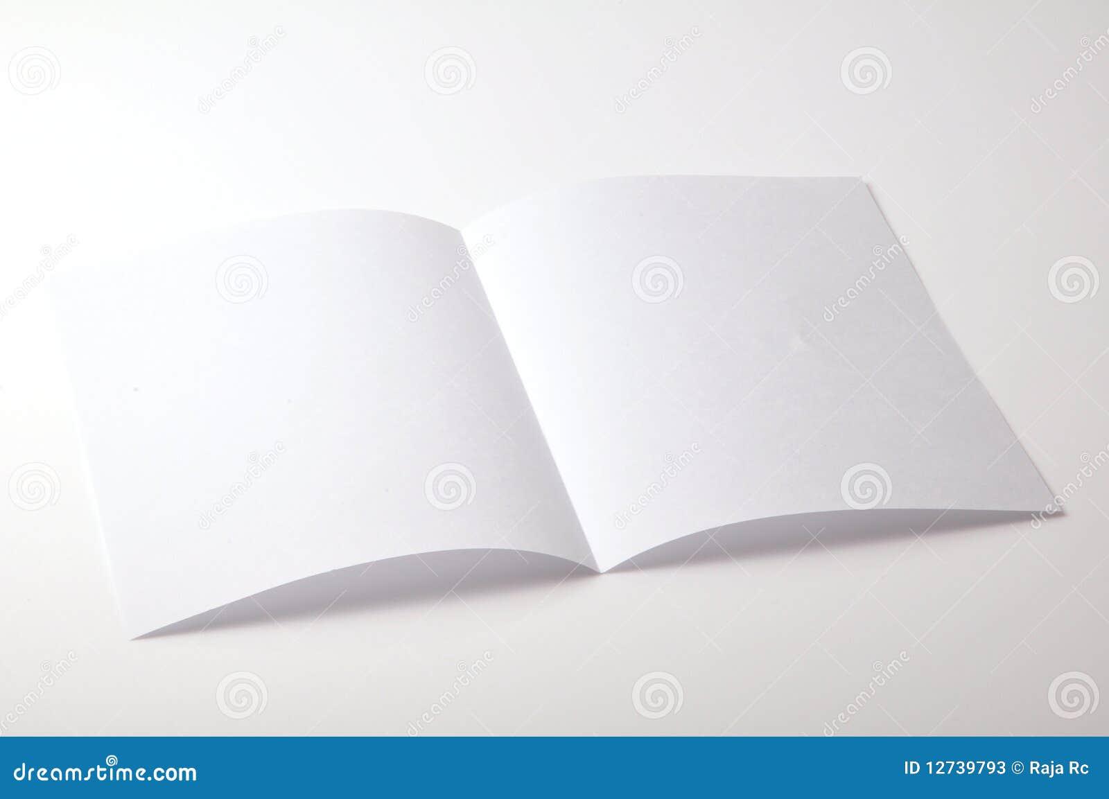 Lege brochure