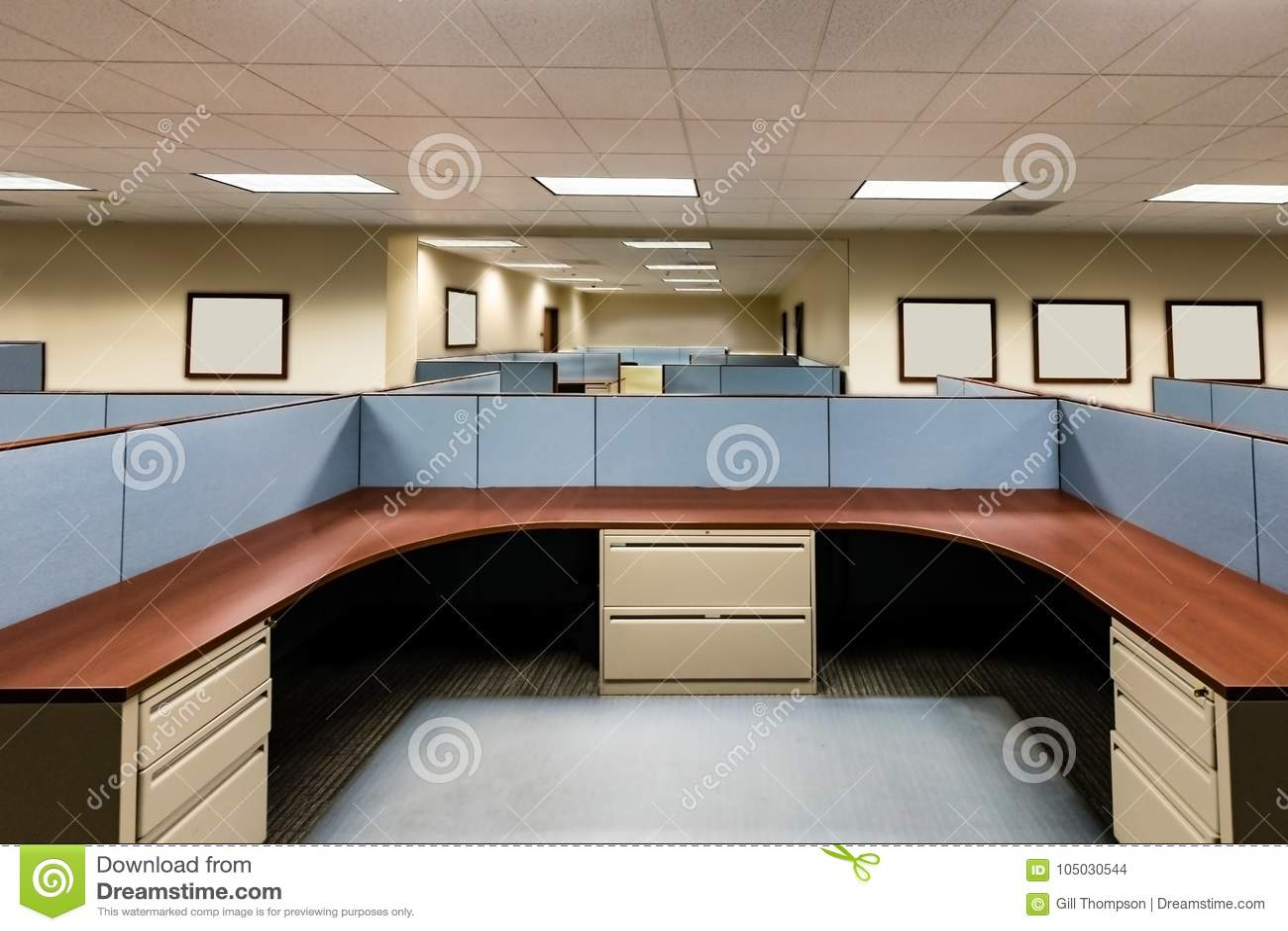 Lege Bureauruimte Klaar te bezetten