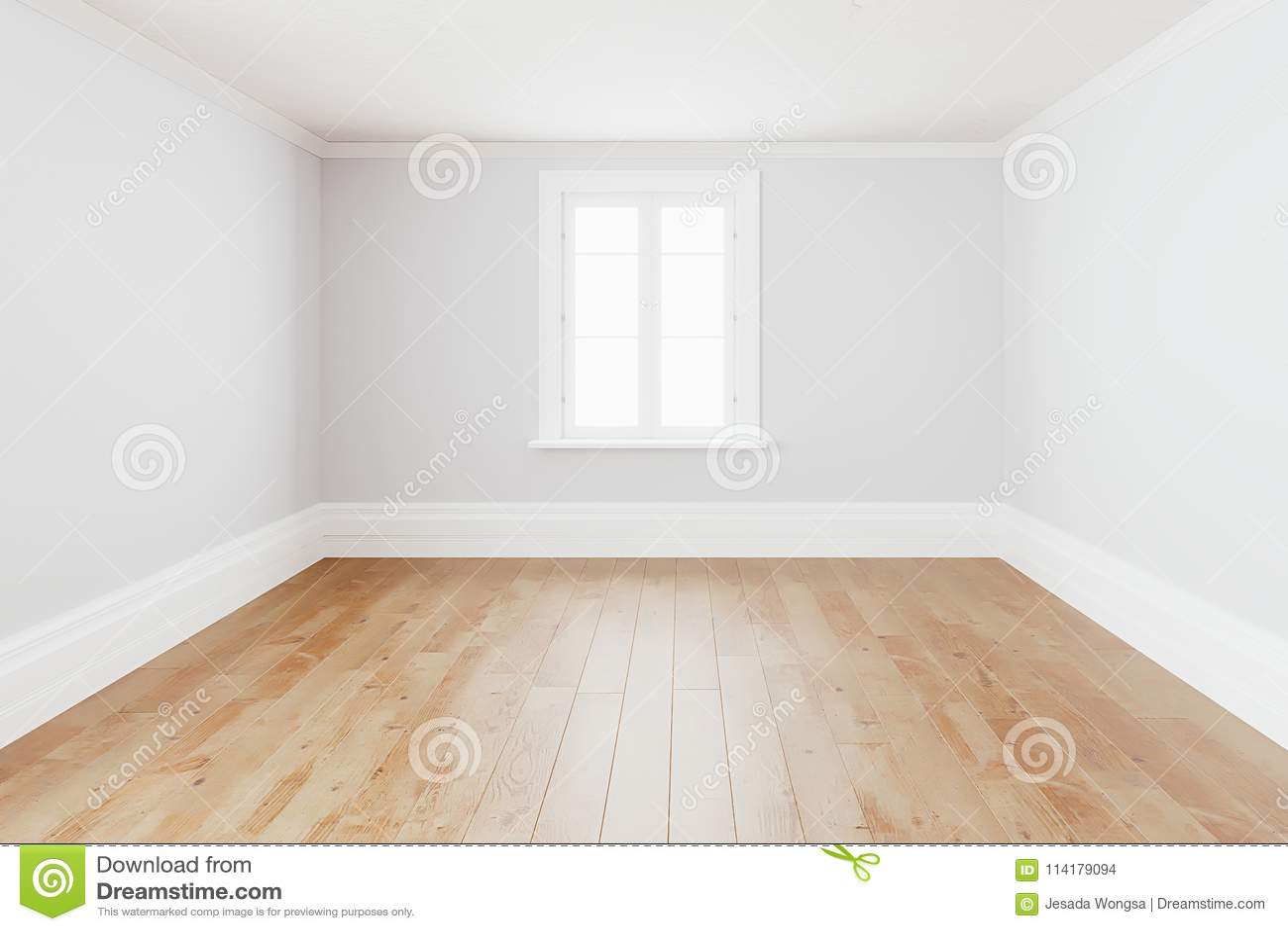 Witte Houten Vloer : Lege eenvoudige binnenlandse ruimte achtergrond lege witte murenhoek