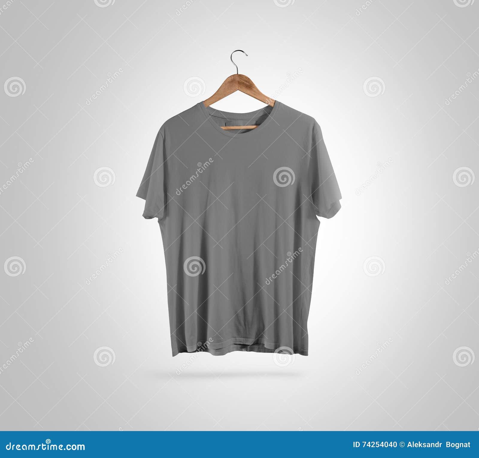 Grijze Stock Shirt VoorhangerOntwerpmodelHet Knippen Weg T Lege uTl1c5FJK3