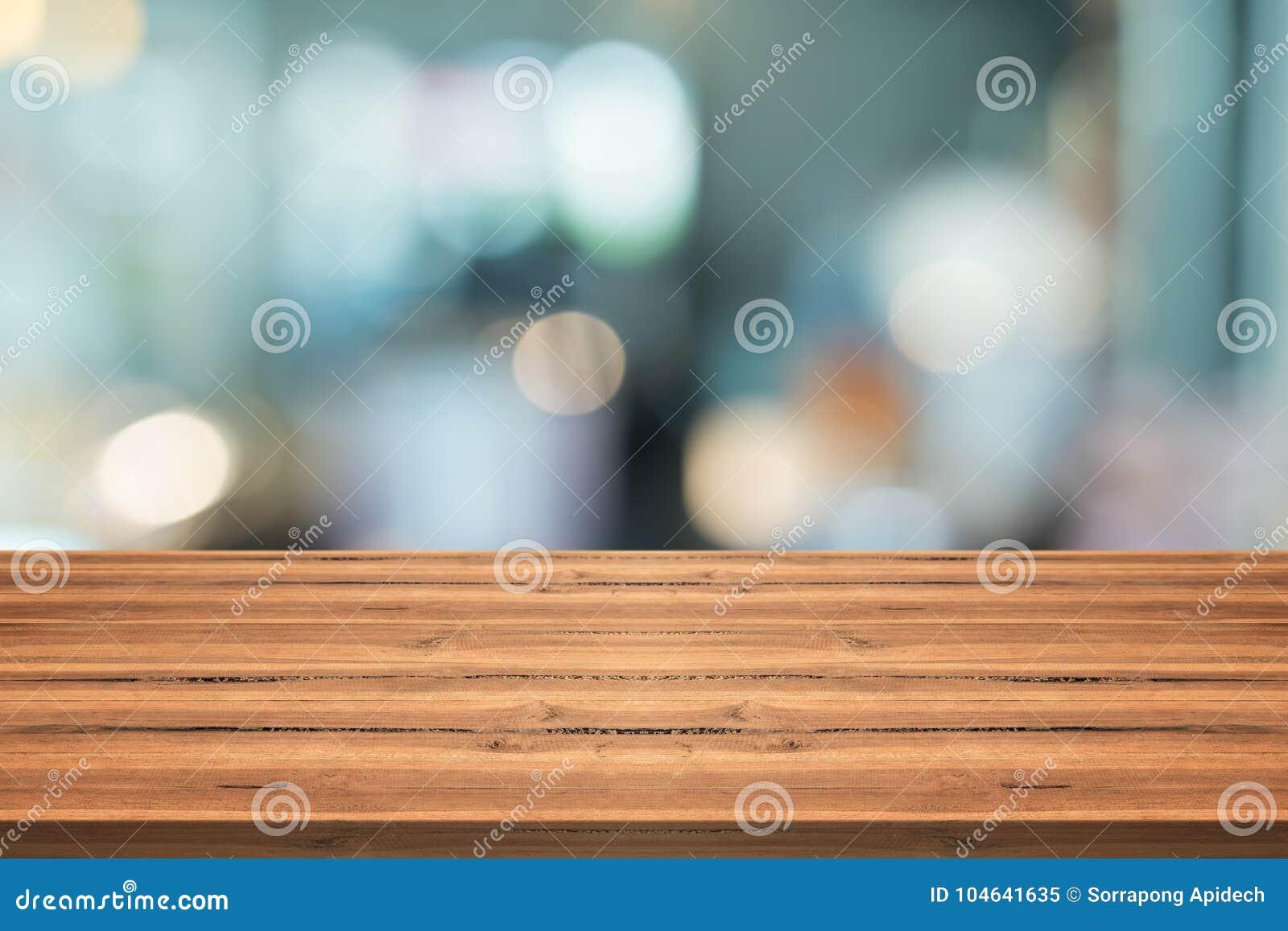 Download Lege Houten Lijstbovenkant Op Vage Achtergrond, Voor Montering Uw Prik Stock Afbeelding - Afbeelding bestaande uit restaurant, teller: 104641635