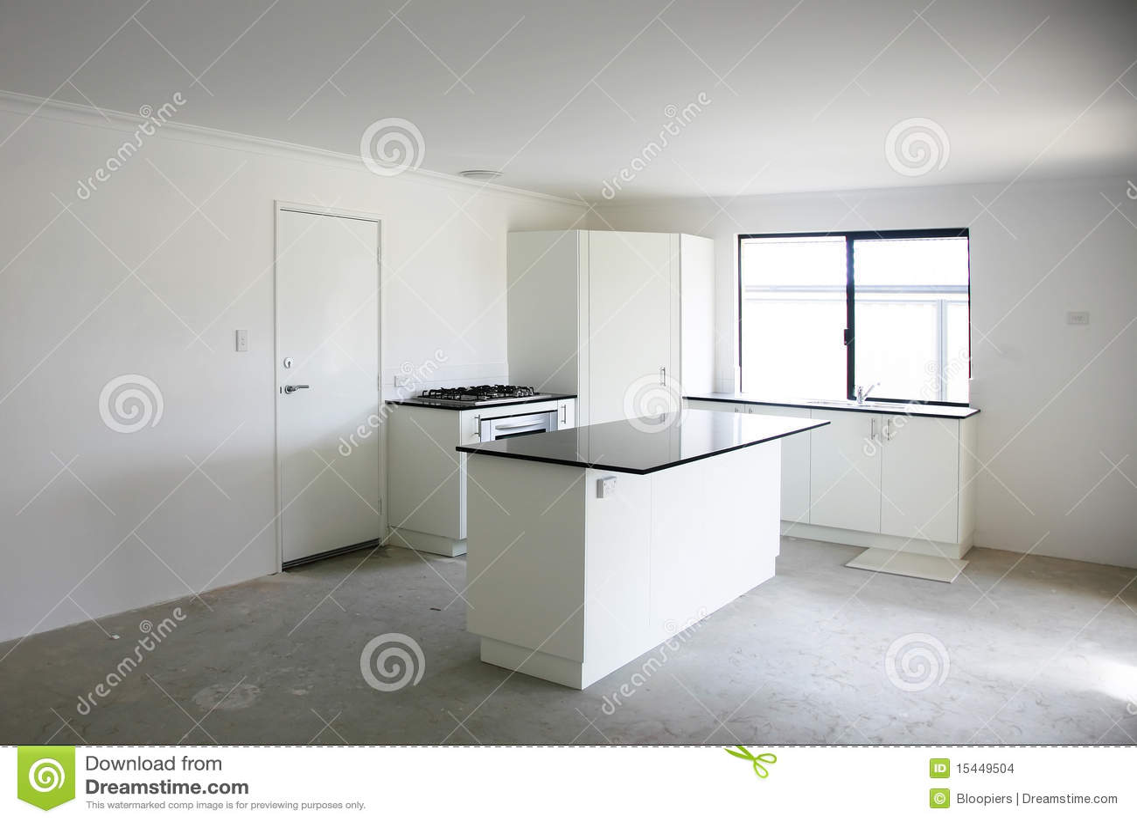 Lege keuken stock afbeeldingen afbeelding 15449504 - Foto eigentijdse keuken ...