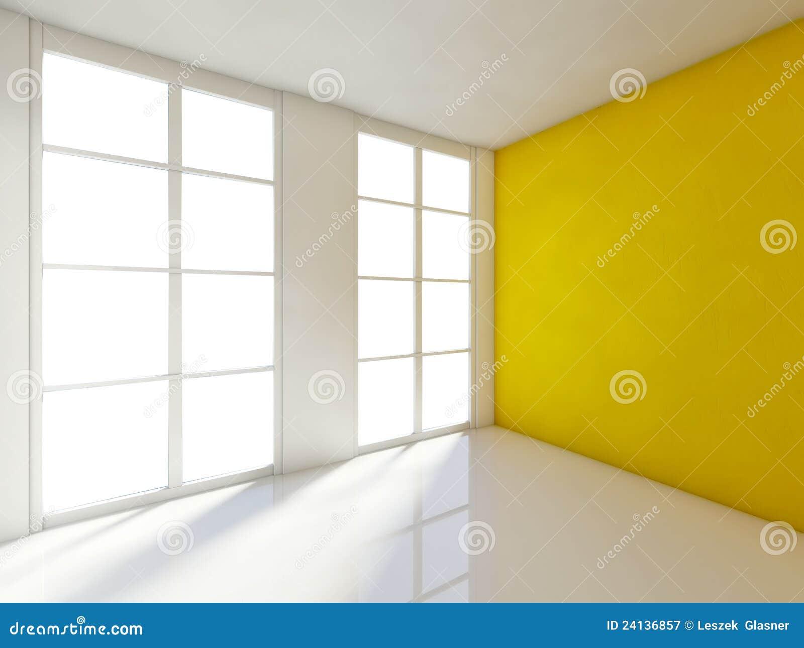 Lege ruimte d huisbinnenland stock illustratie illustratie