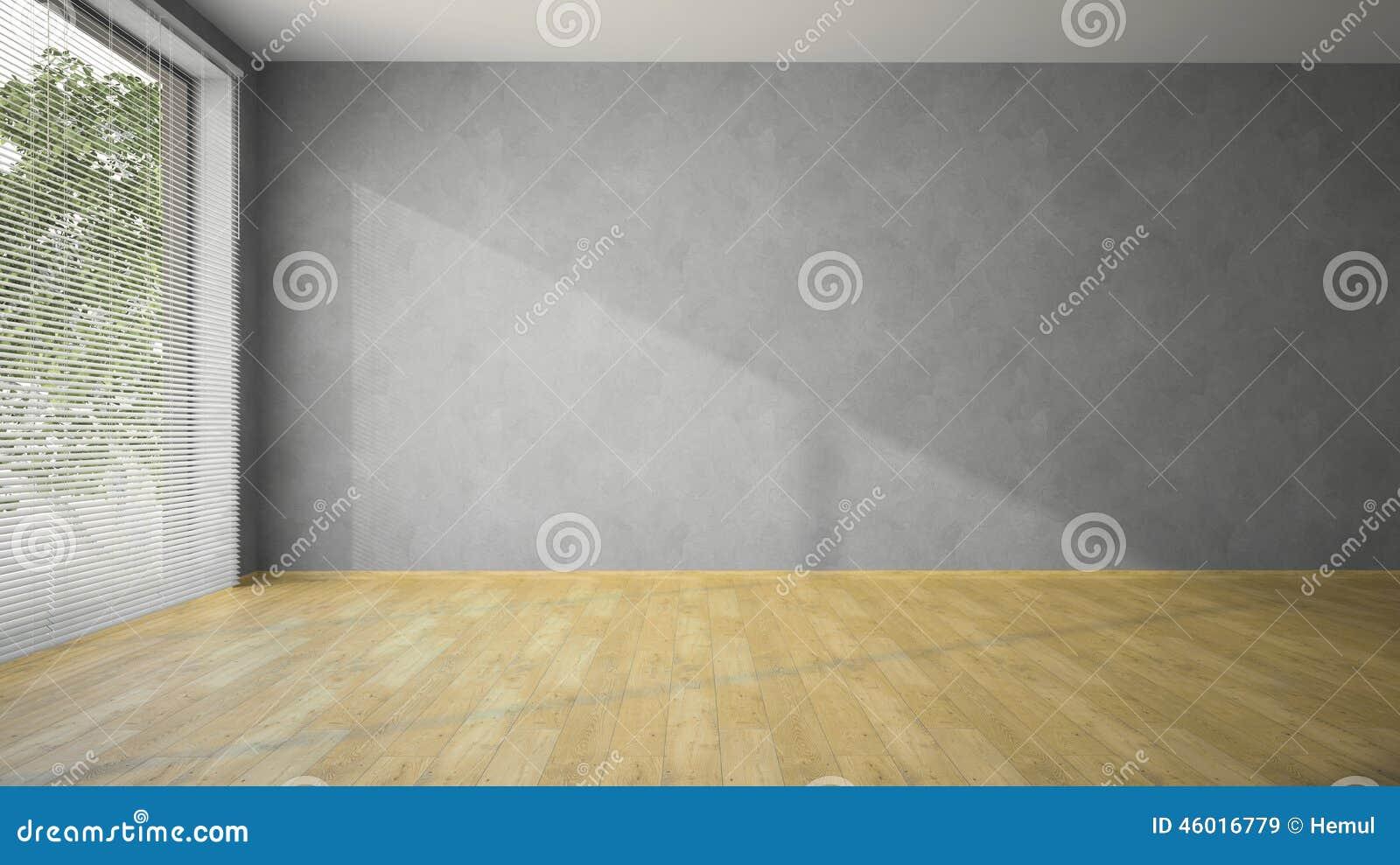Lege ruimte met grijs muren en parket stock foto afbeelding 46016779 - Grijze ruimte ...