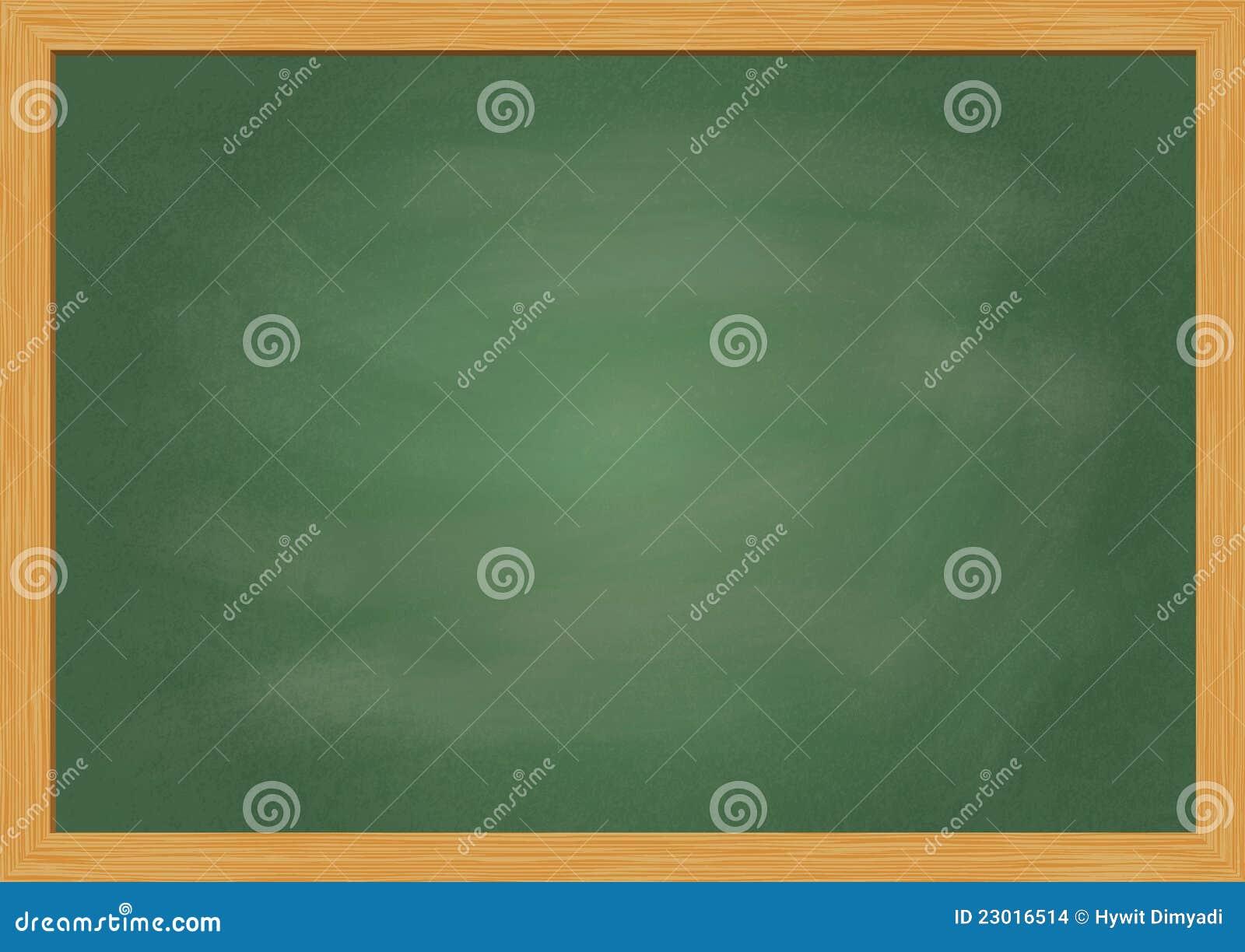 Lege schoolbordillustratie