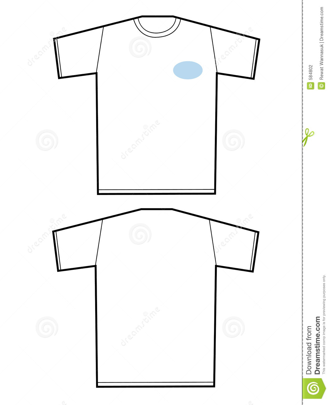 t shirt template illustrator