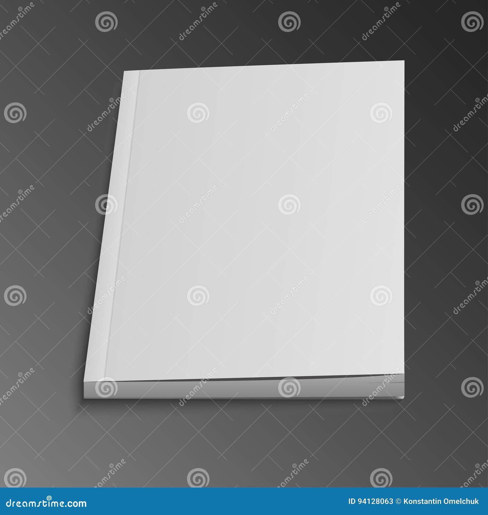 Lege Vliegende Dekking van Tijdschrift, Boek, Boekje, Brochure