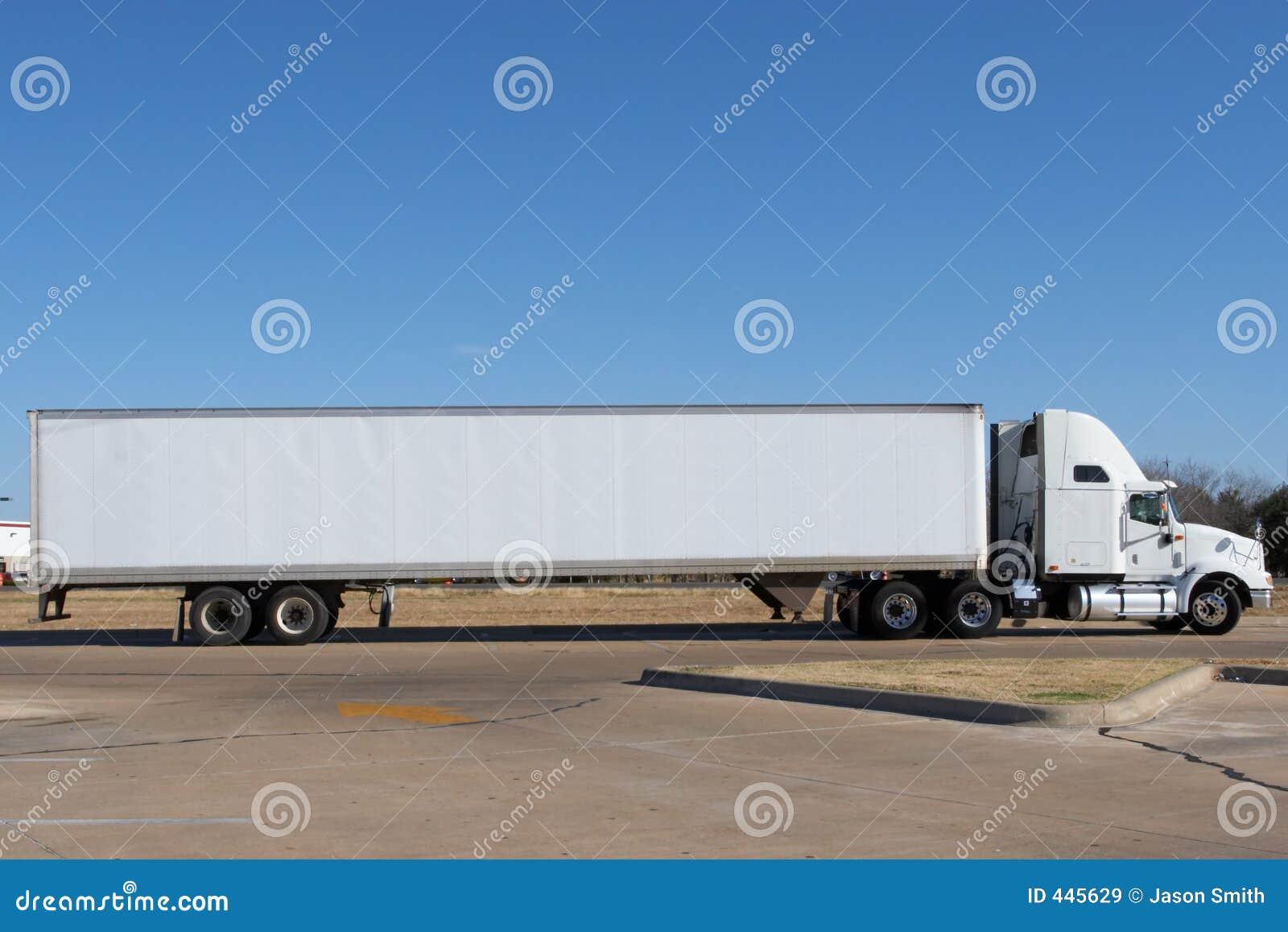 Lege Vrachtwagen