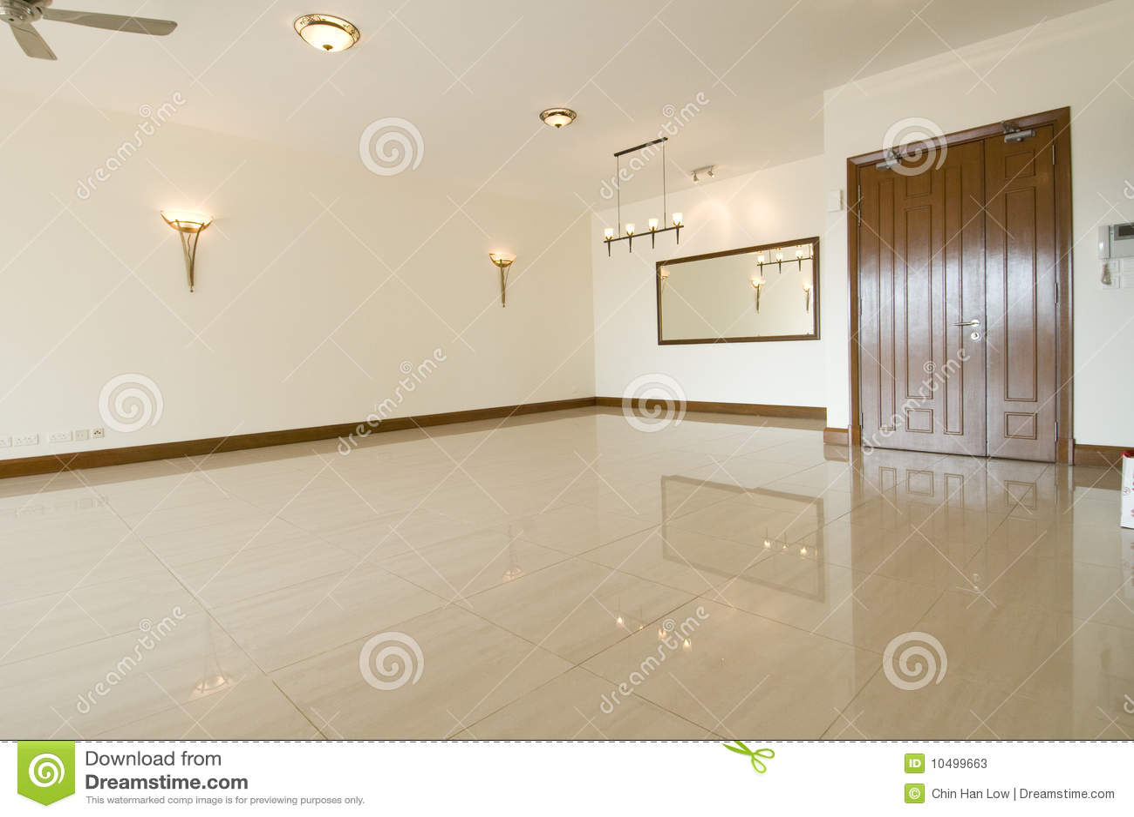 Lege woonkamer stock afbeelding. Afbeelding bestaande uit living ...