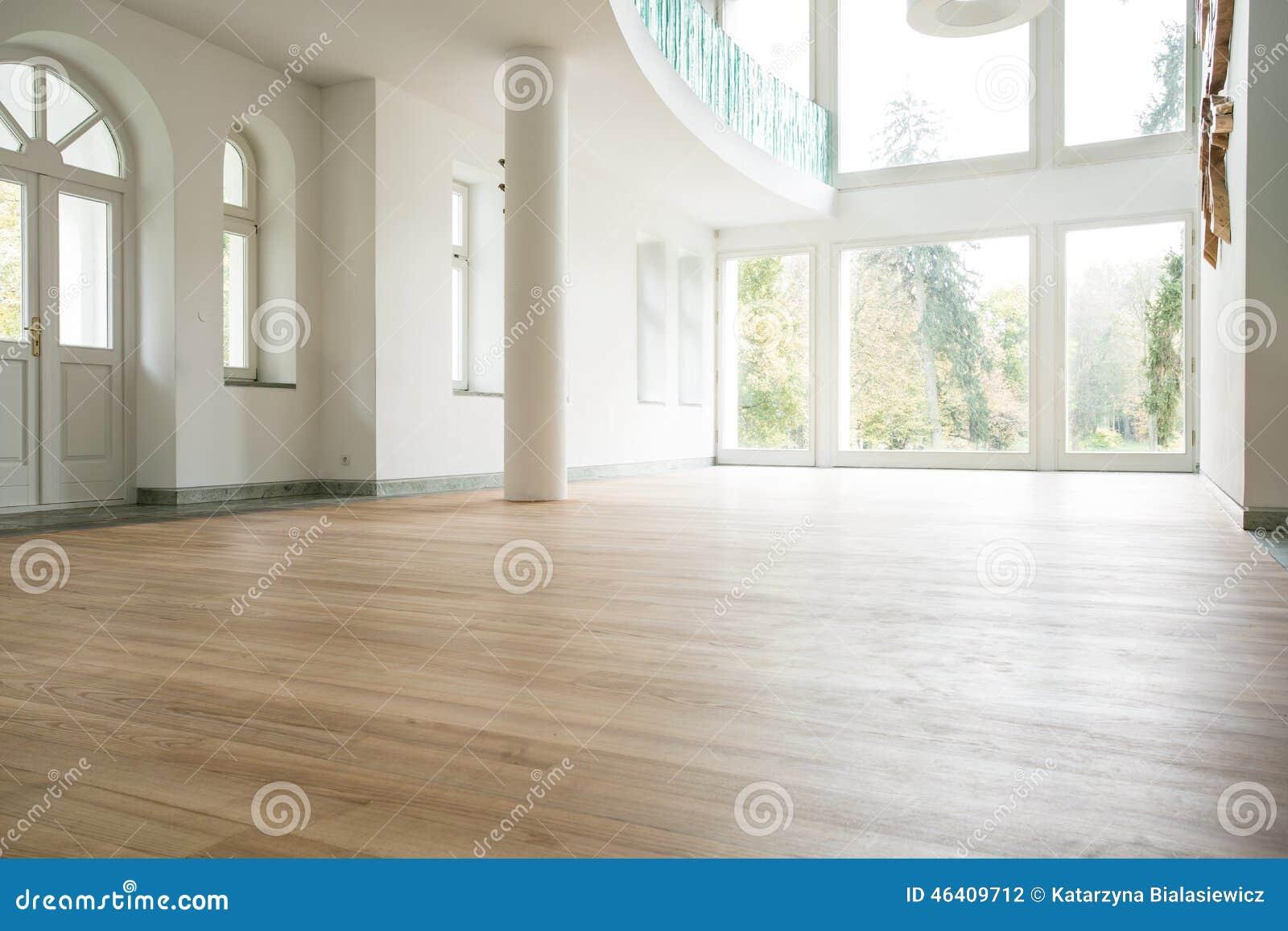 Lege woonkamer stock foto. Afbeelding bestaande uit helder - 46409712