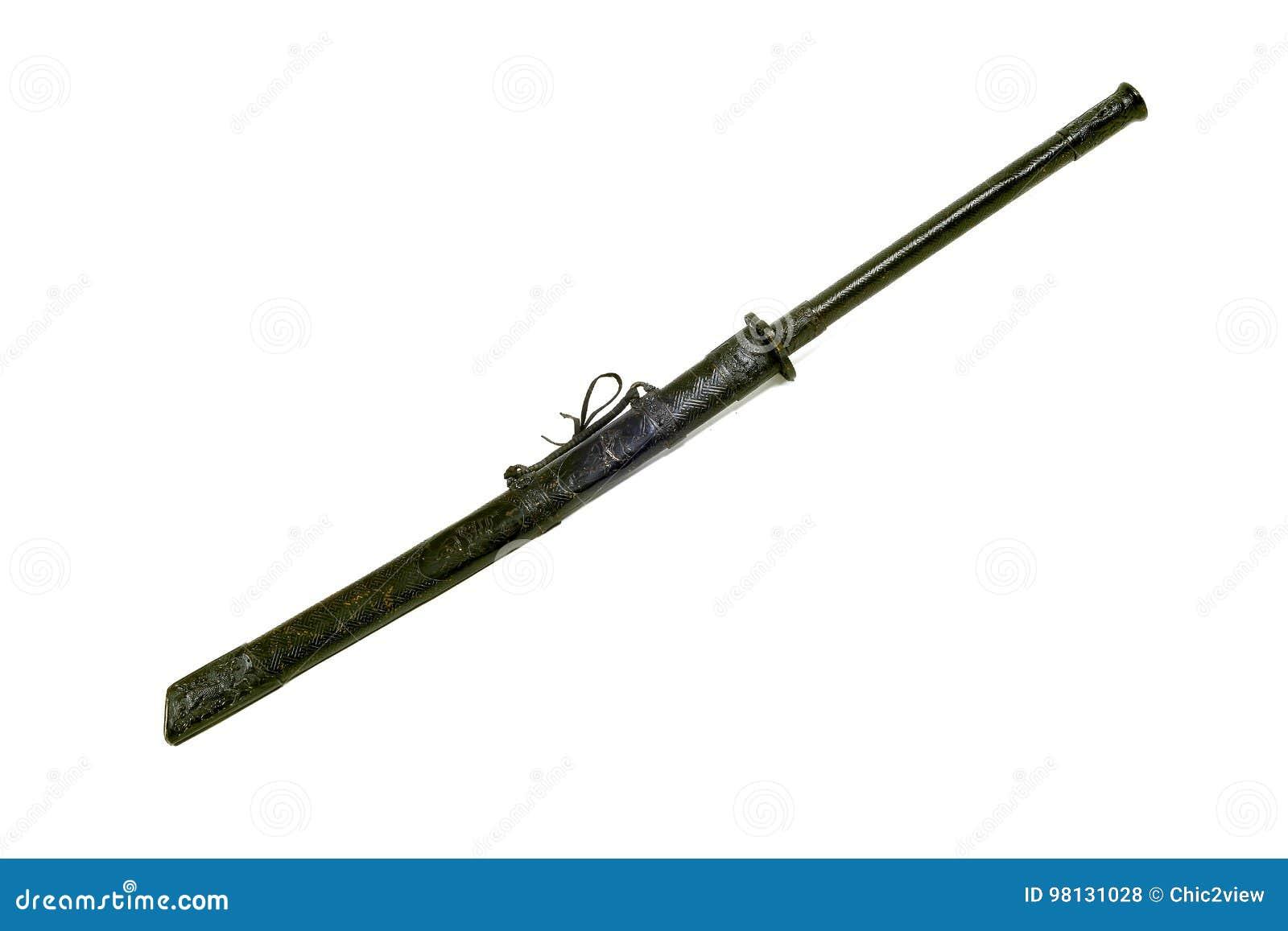 Legend Of Ancient Samurai Grand Sword Stock Photo - Image of