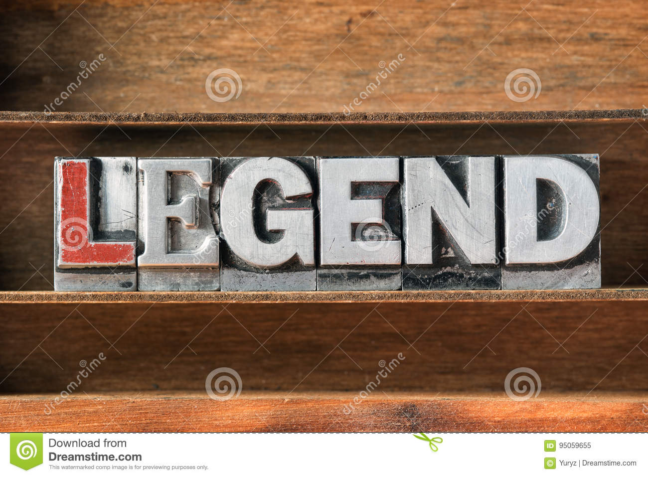 Legend word tray