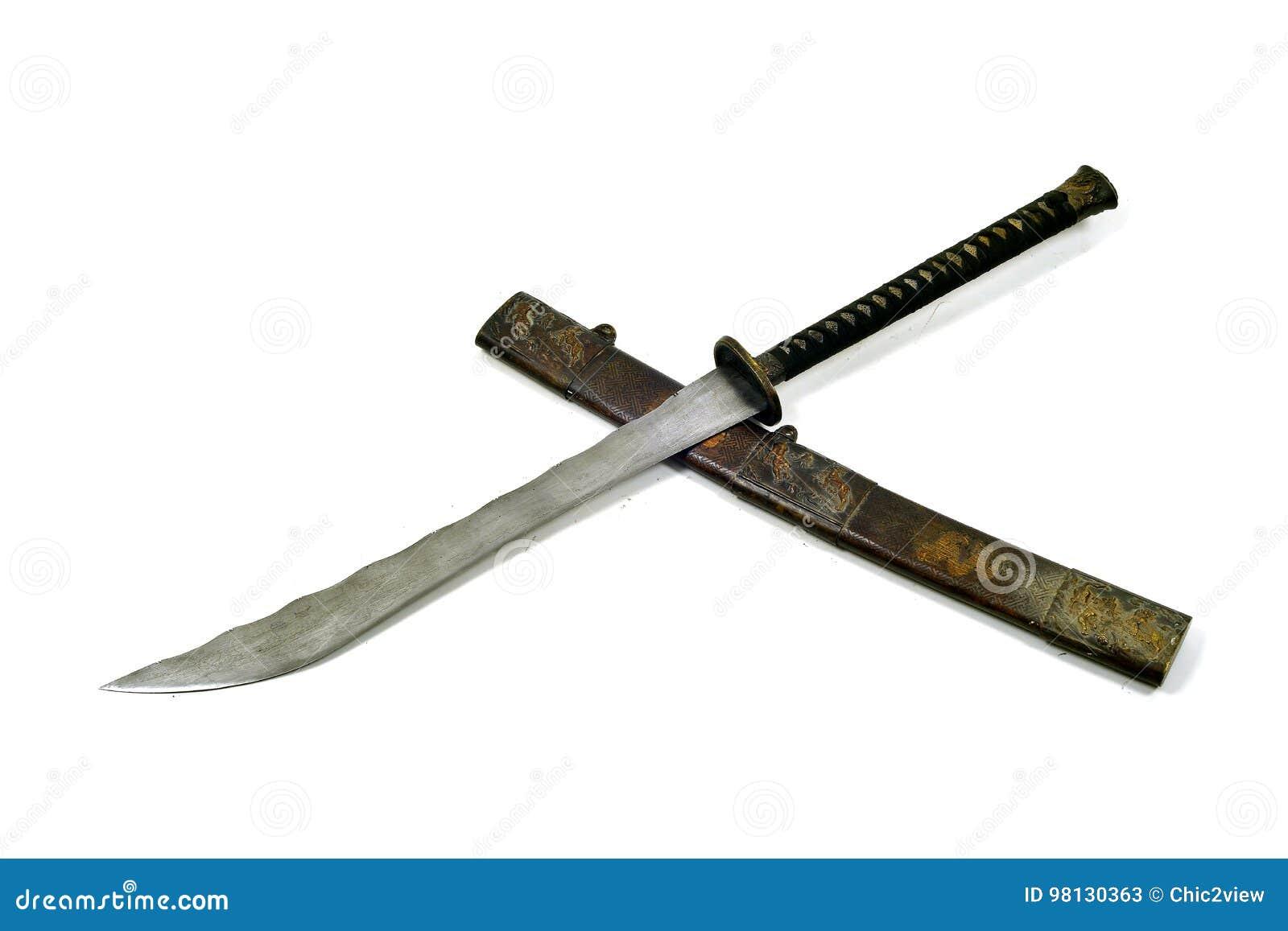 Legende der großartigen Klinge der alten Samurais