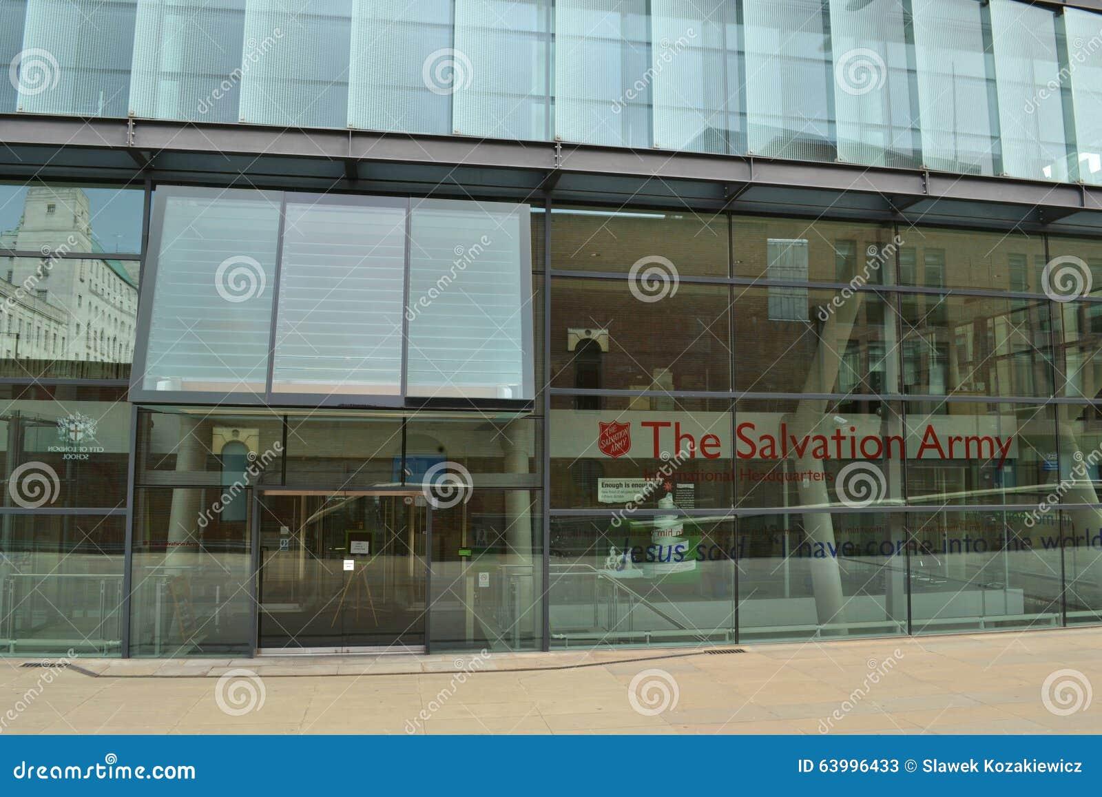 Google Hoofdkwartier Londen : Leger des heils internationaal hoofdkwartier londen redactionele