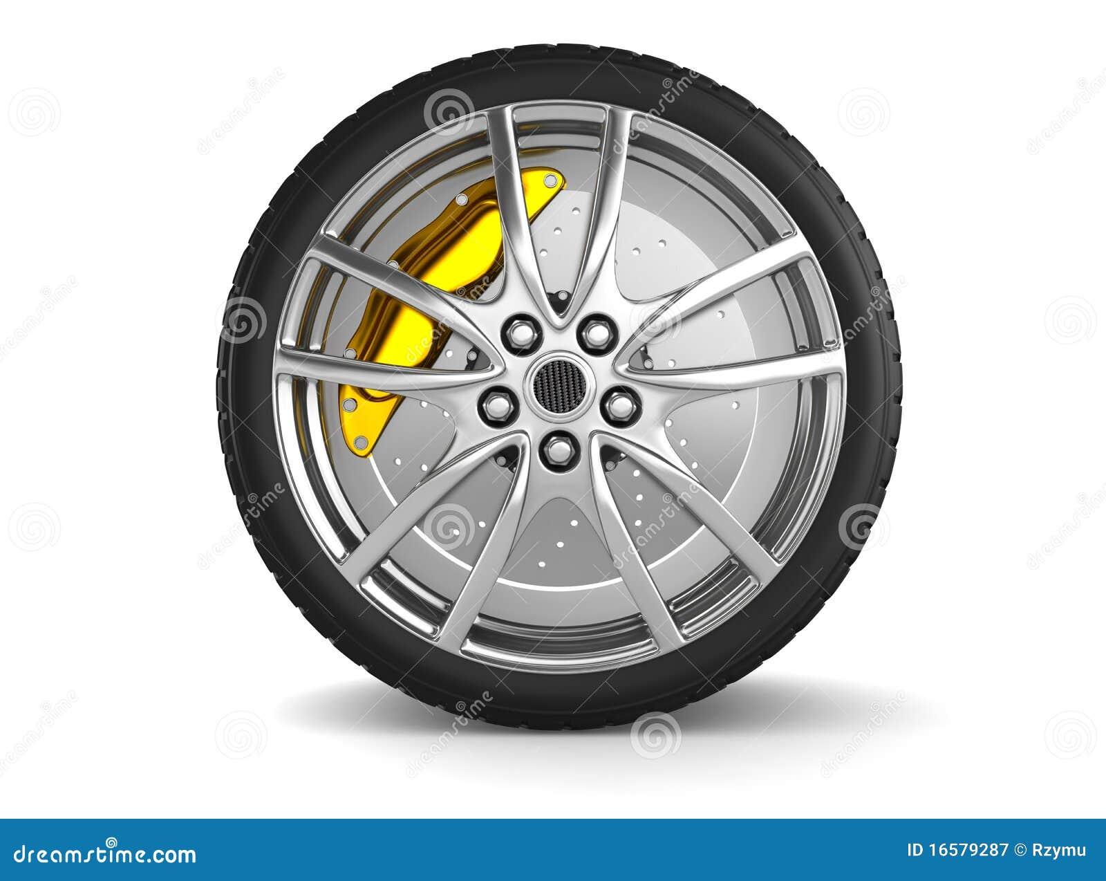 Legierungsräder für Sportauto