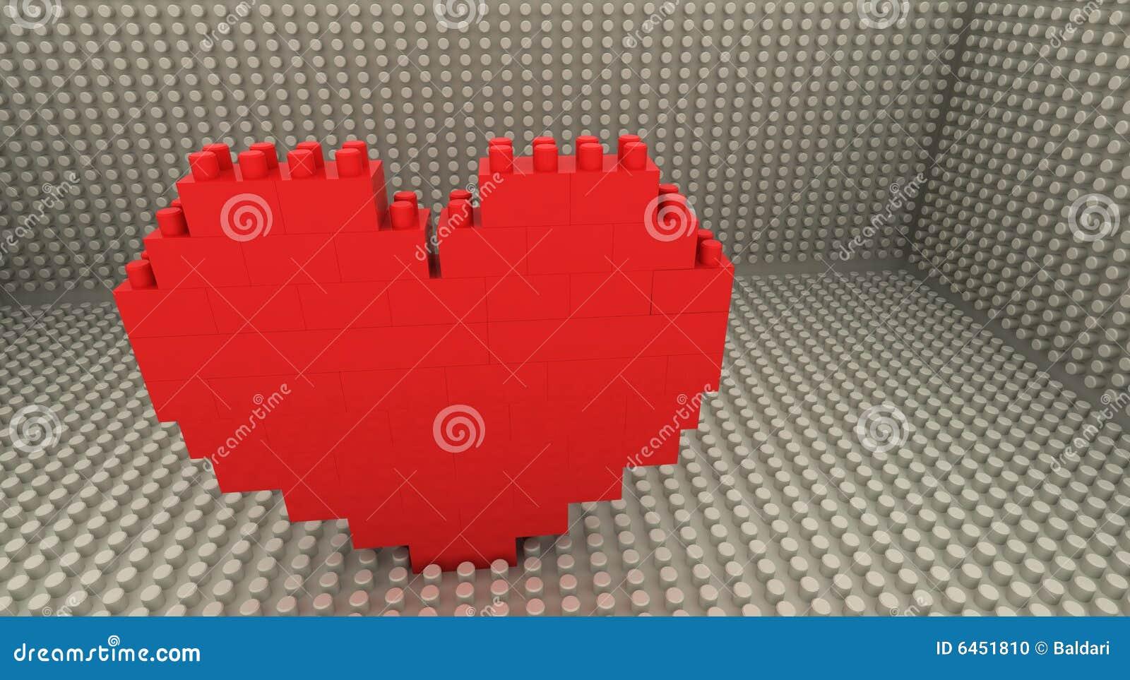 Lego καρδιών