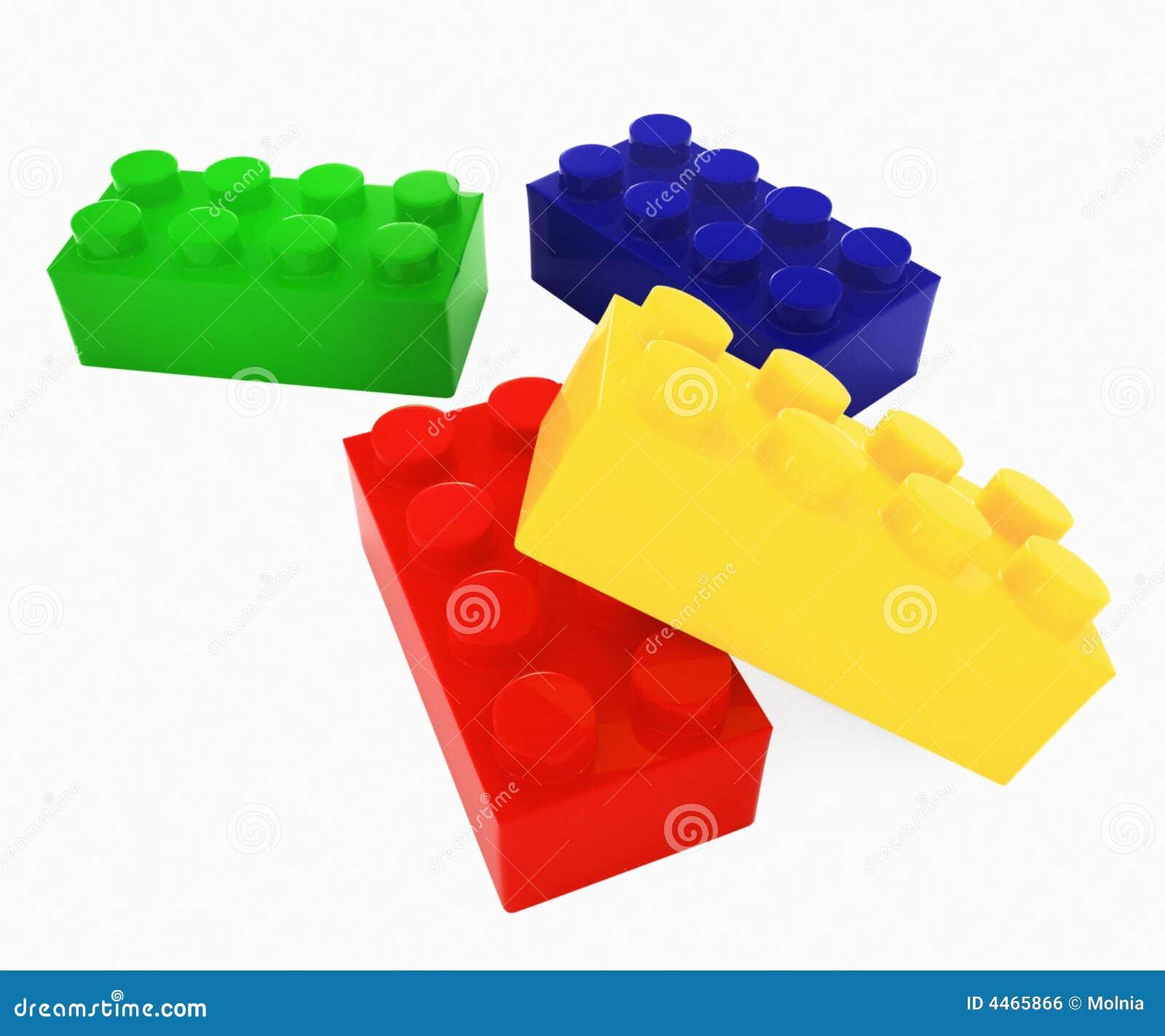 Lego цвета блоков