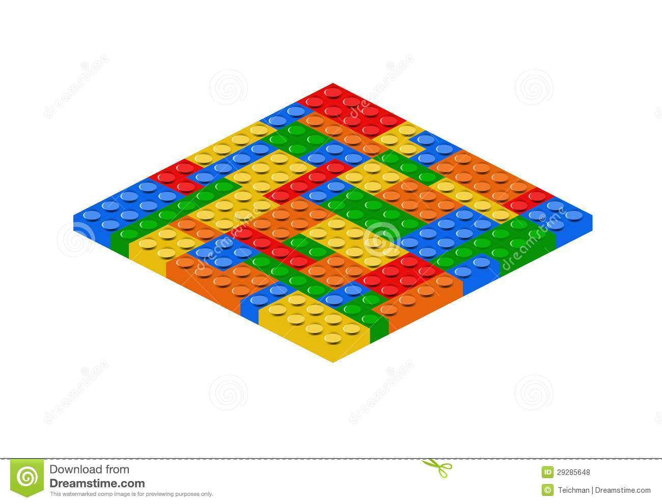 Lego Bricks Royalty Free Stock Photos - Image: 29285648