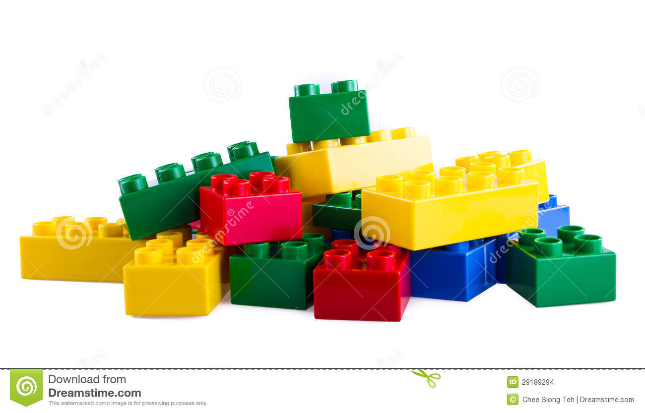 Lego building blocks stock images image 29189294 for Cost of building blocks in jamaica 2017