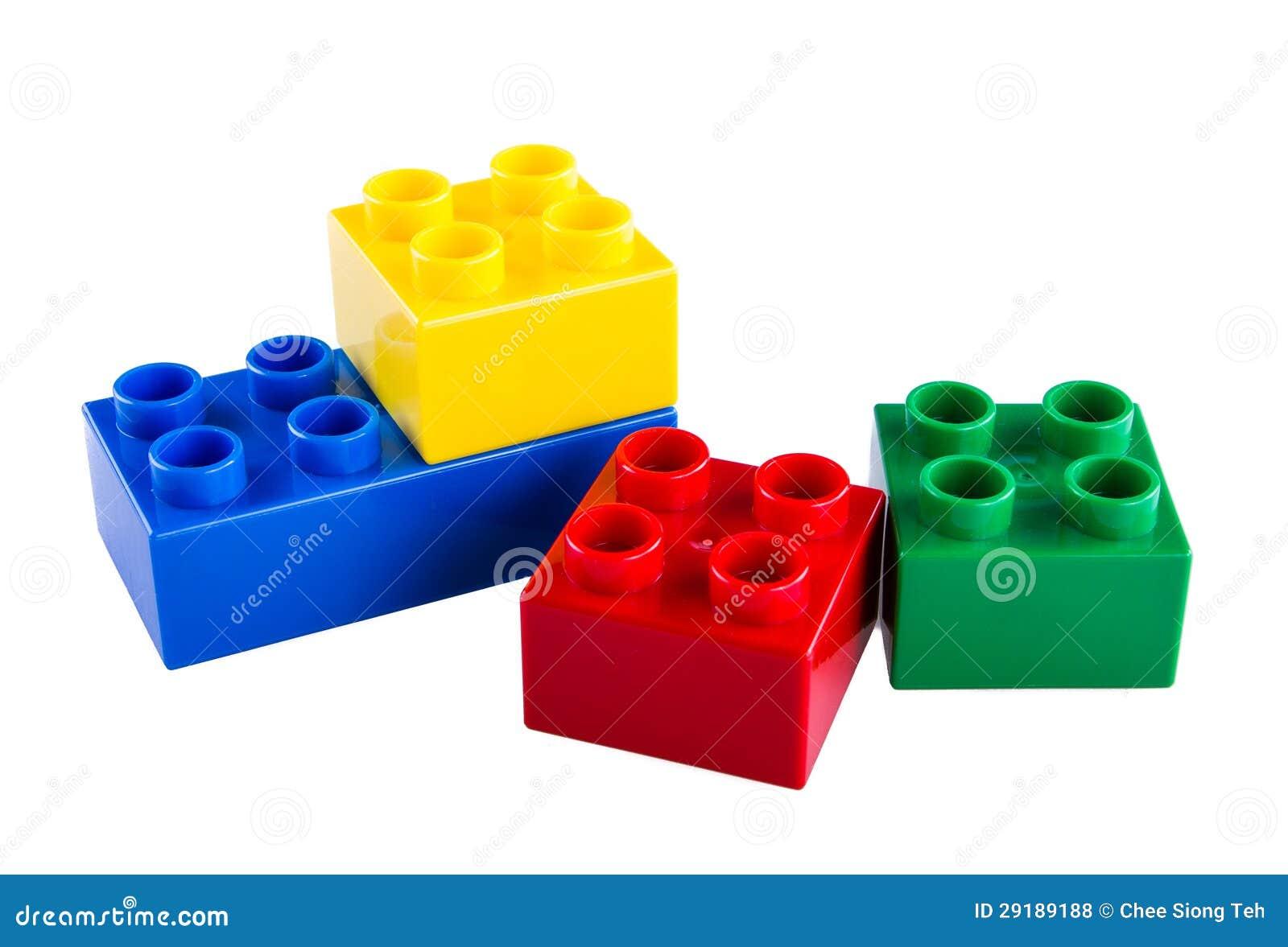 Lego byggande kvarter