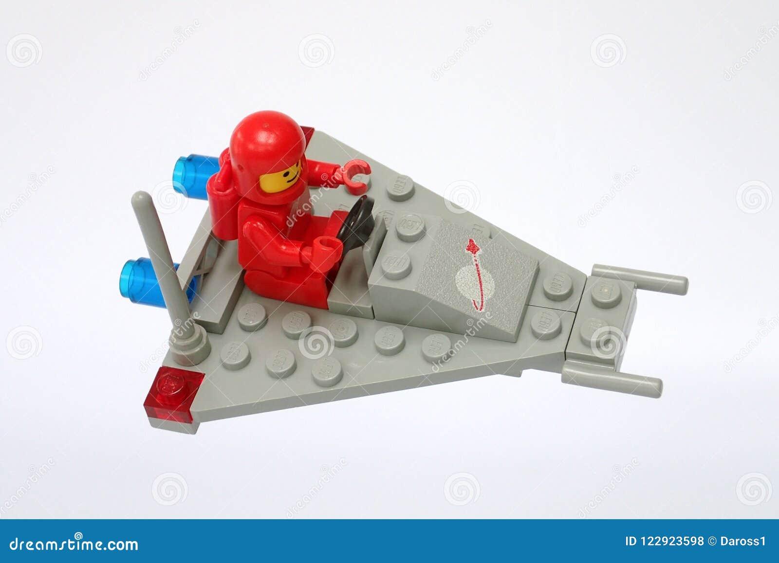 889 Vintage Lego Camión de radar de espacio
