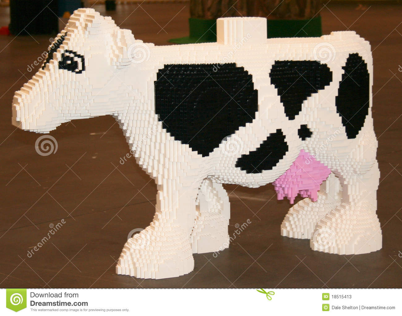 LEGO Cow Editorial Stock Photo - Image: 18515413