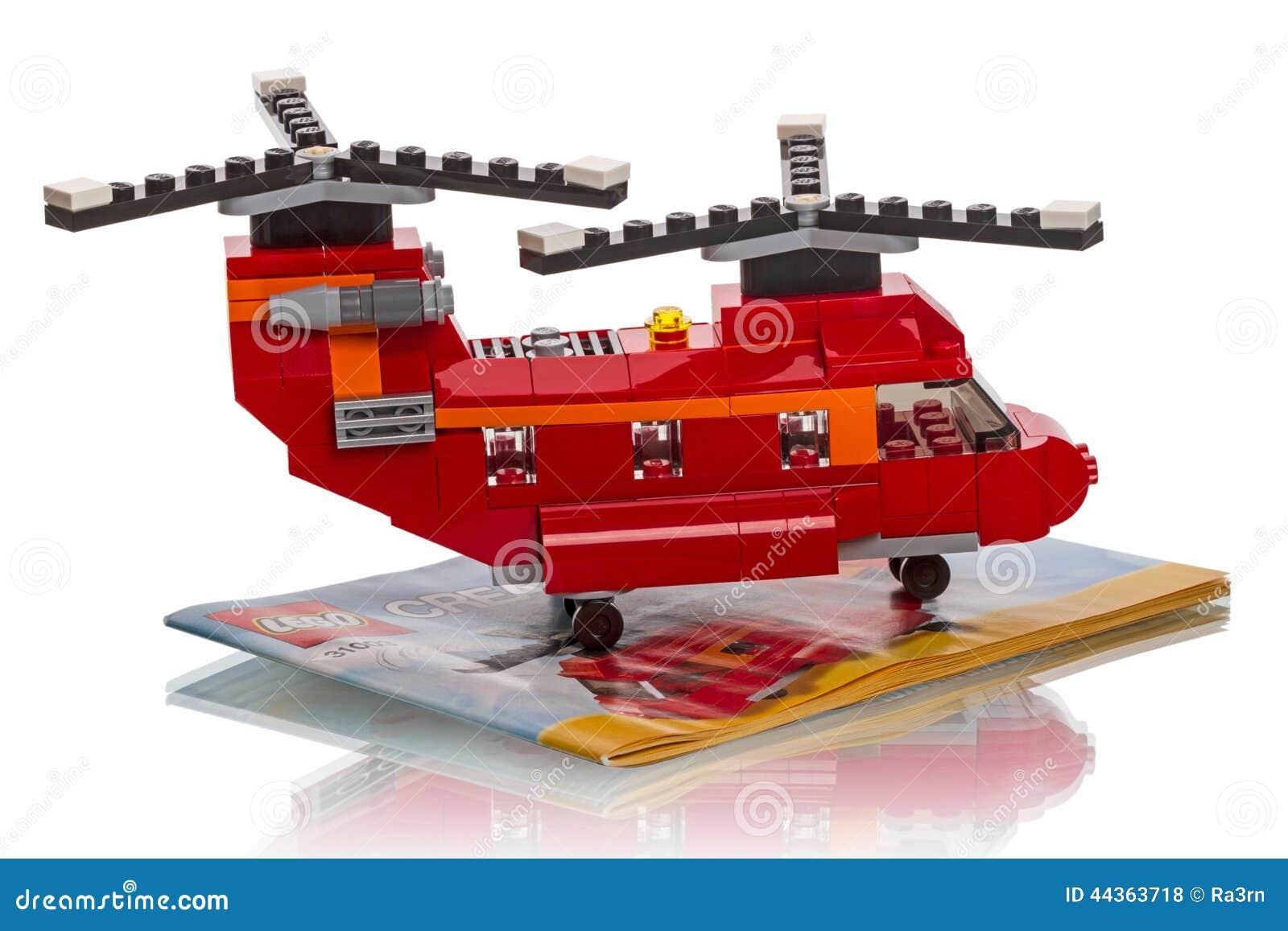 LEGO Creator - un elicottero di due rotori