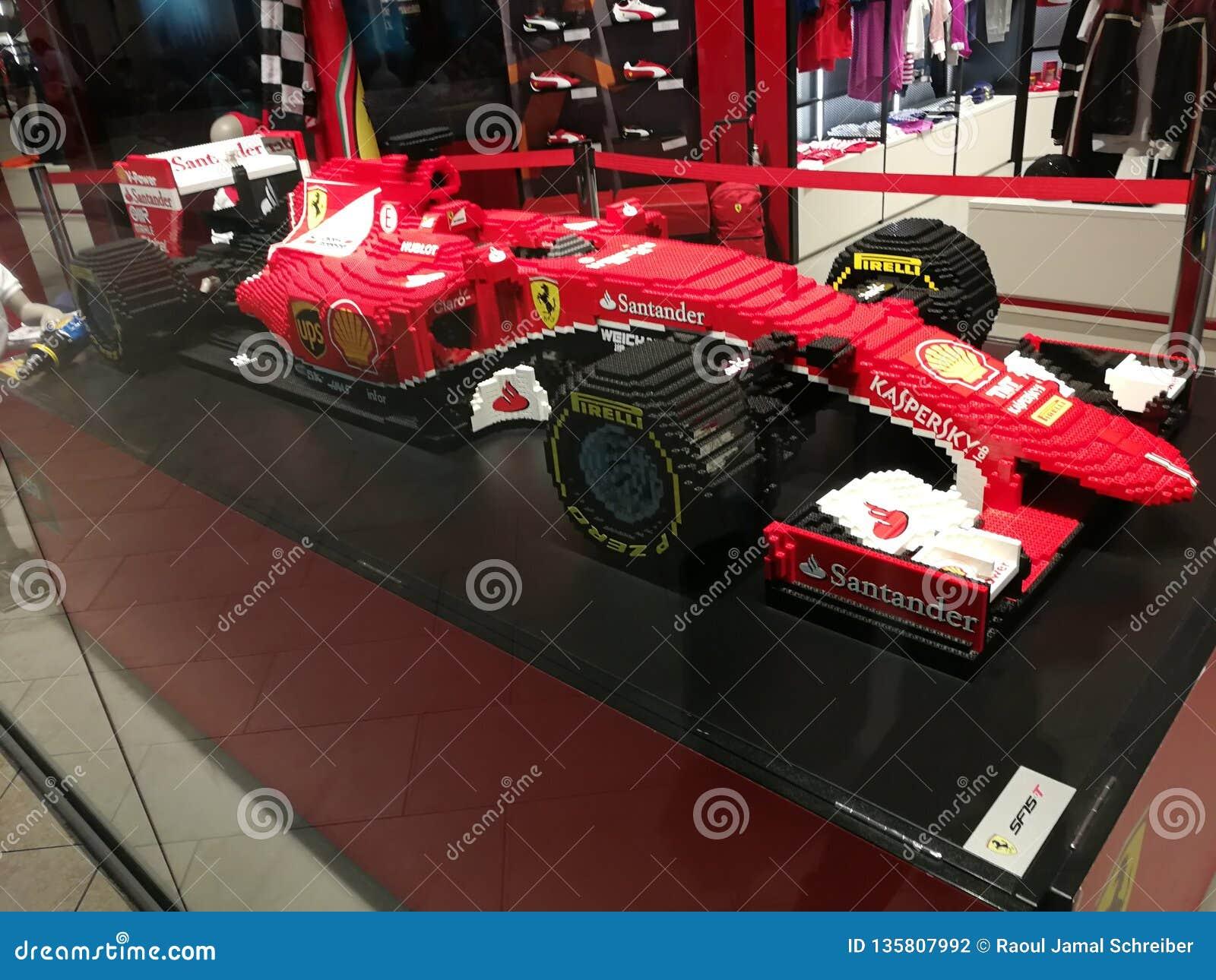 Lego Formula 1 Ferrari Editorial Photography Image Of Scuderia 135807992