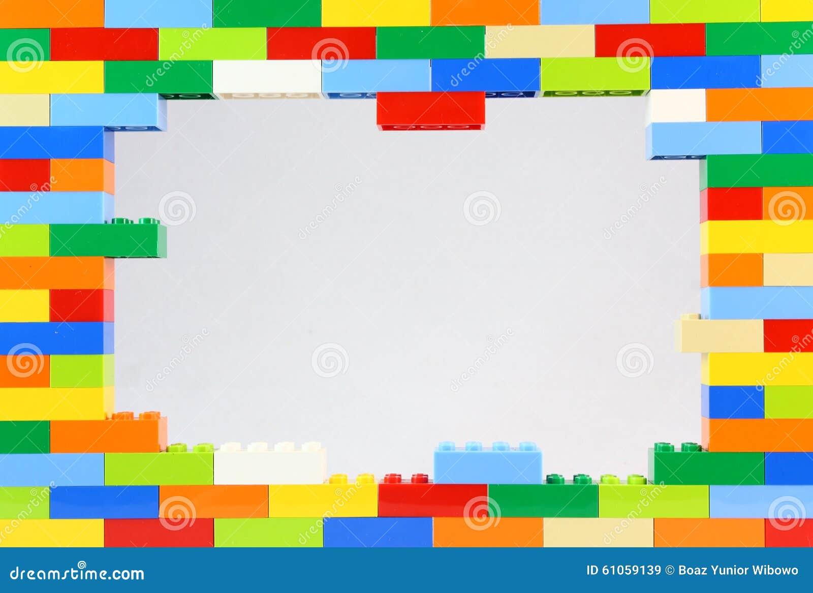 Lego Frame colorido