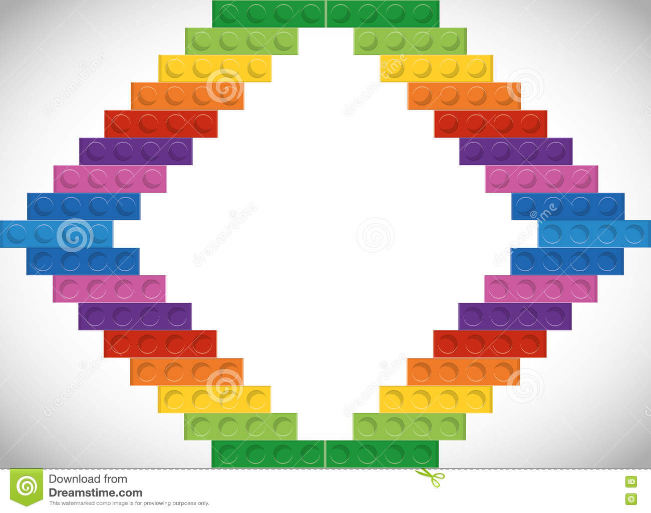 Colorful lego frame stock illustrations 20 colorful lego frame lego icon abstract frame figure vector graphic lego concept represented by abstract frame stopboris Gallery