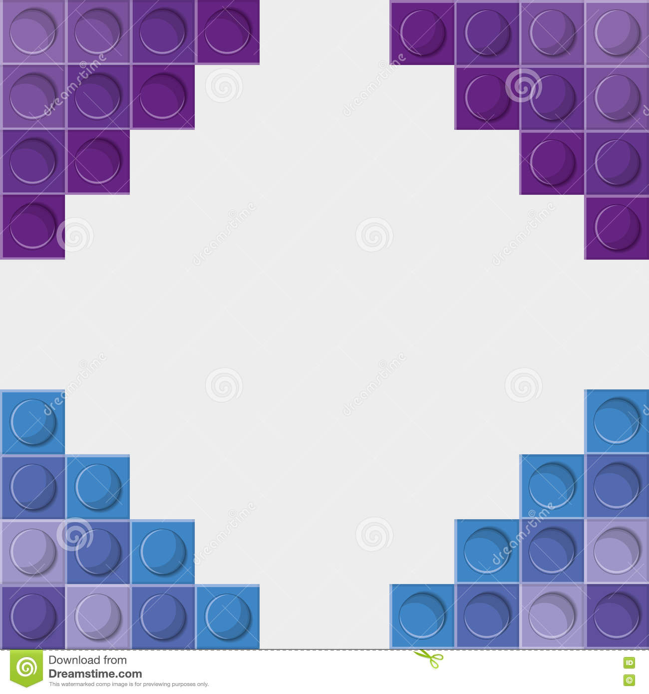 Lego icon abstract frame figure vector graphic stock vector lego icon abstract frame figure vector graphic stock image stopboris Gallery