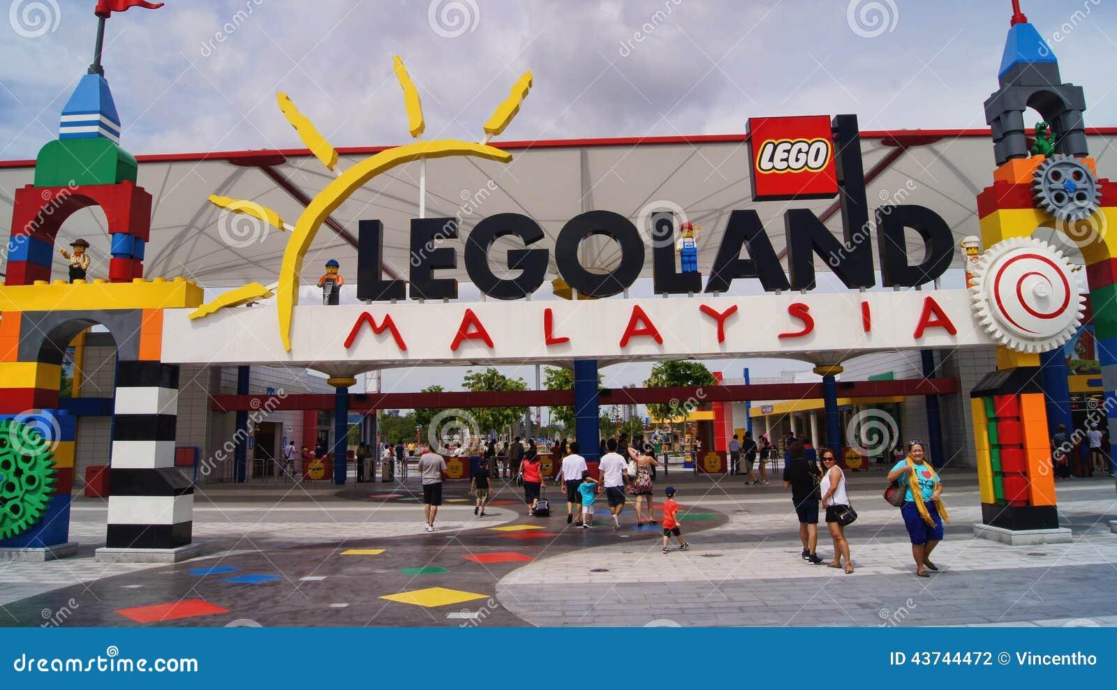 Lego Legoland Malaysia Entrance Editorial Photography ...