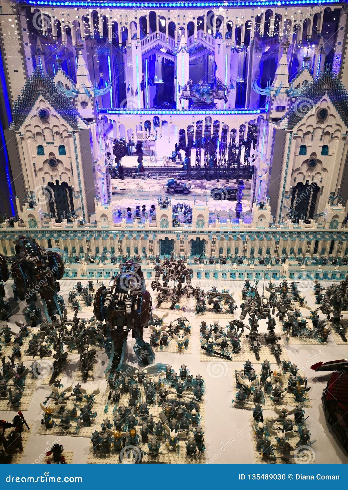 Lego Powystawowa inwazja giganty