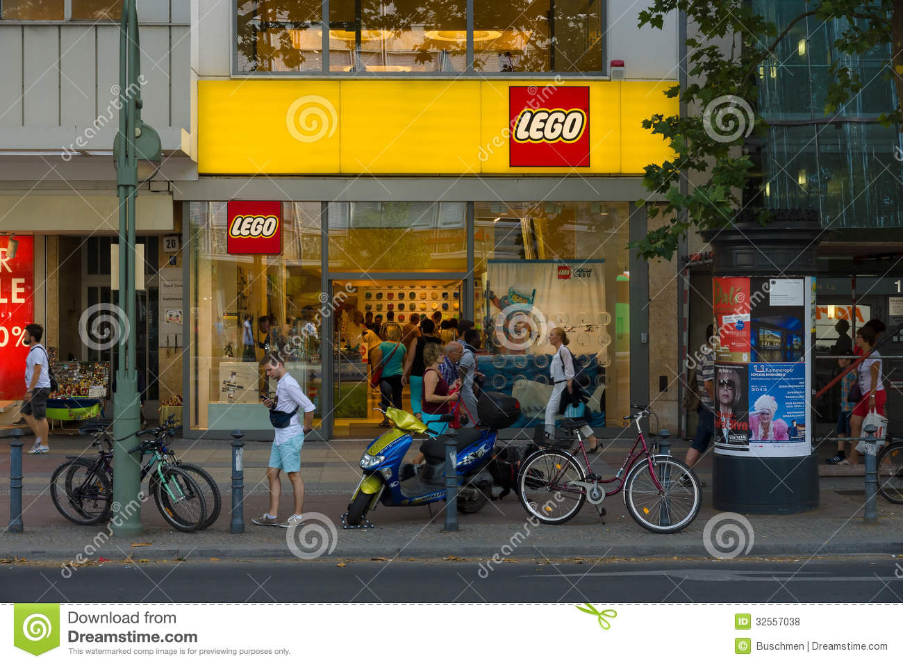... toys manufactured by The Lego Group. July 24, 2013, Berlin, Germany