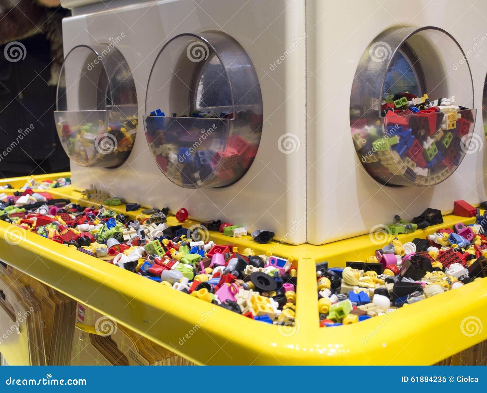 Lego Sklep Kopenhaga Zdjęcie Editorial Obraz Złożonej Z Sztuka